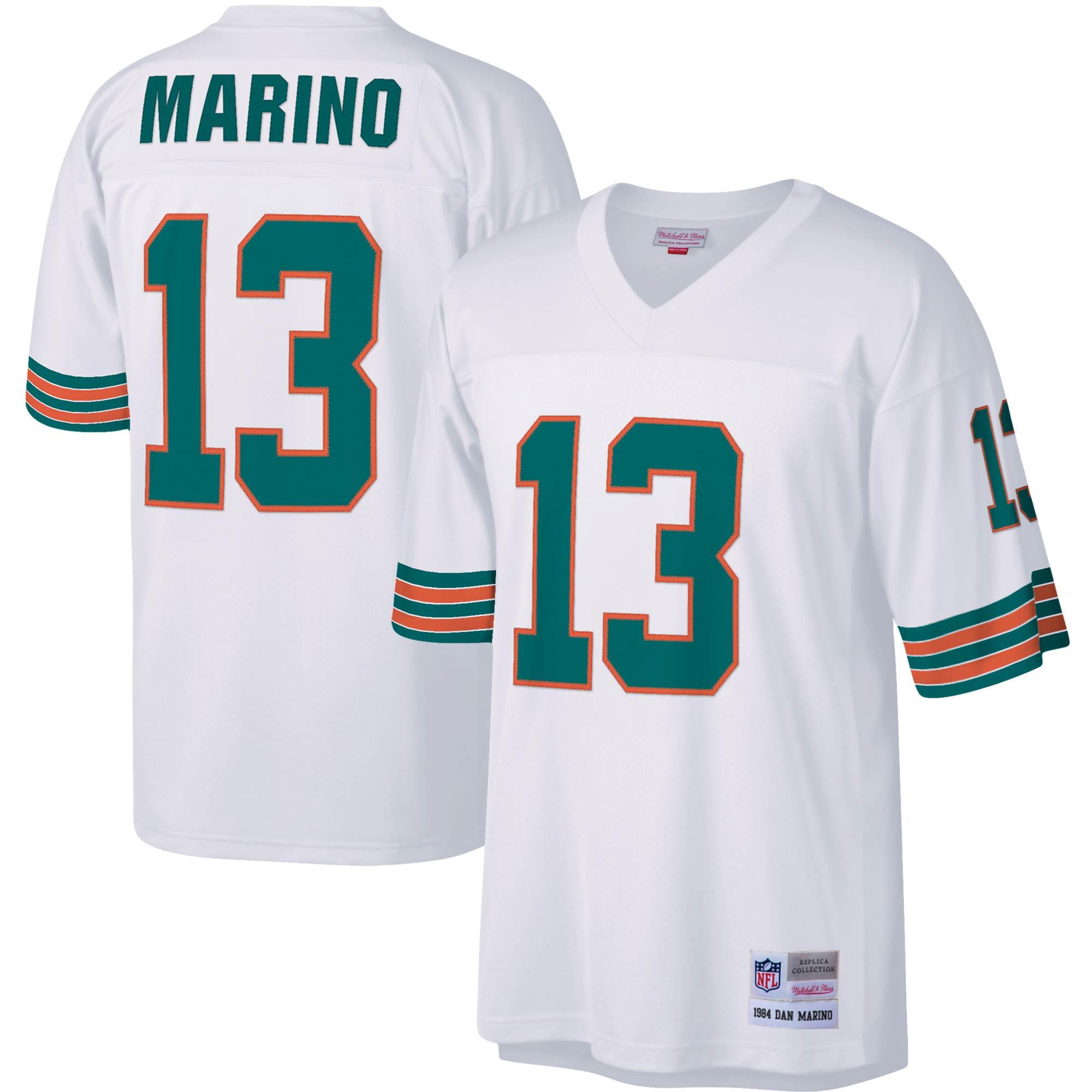Dan Marino Miami Dolphins Mitchell & Ness Legacy Replica Jersey - White