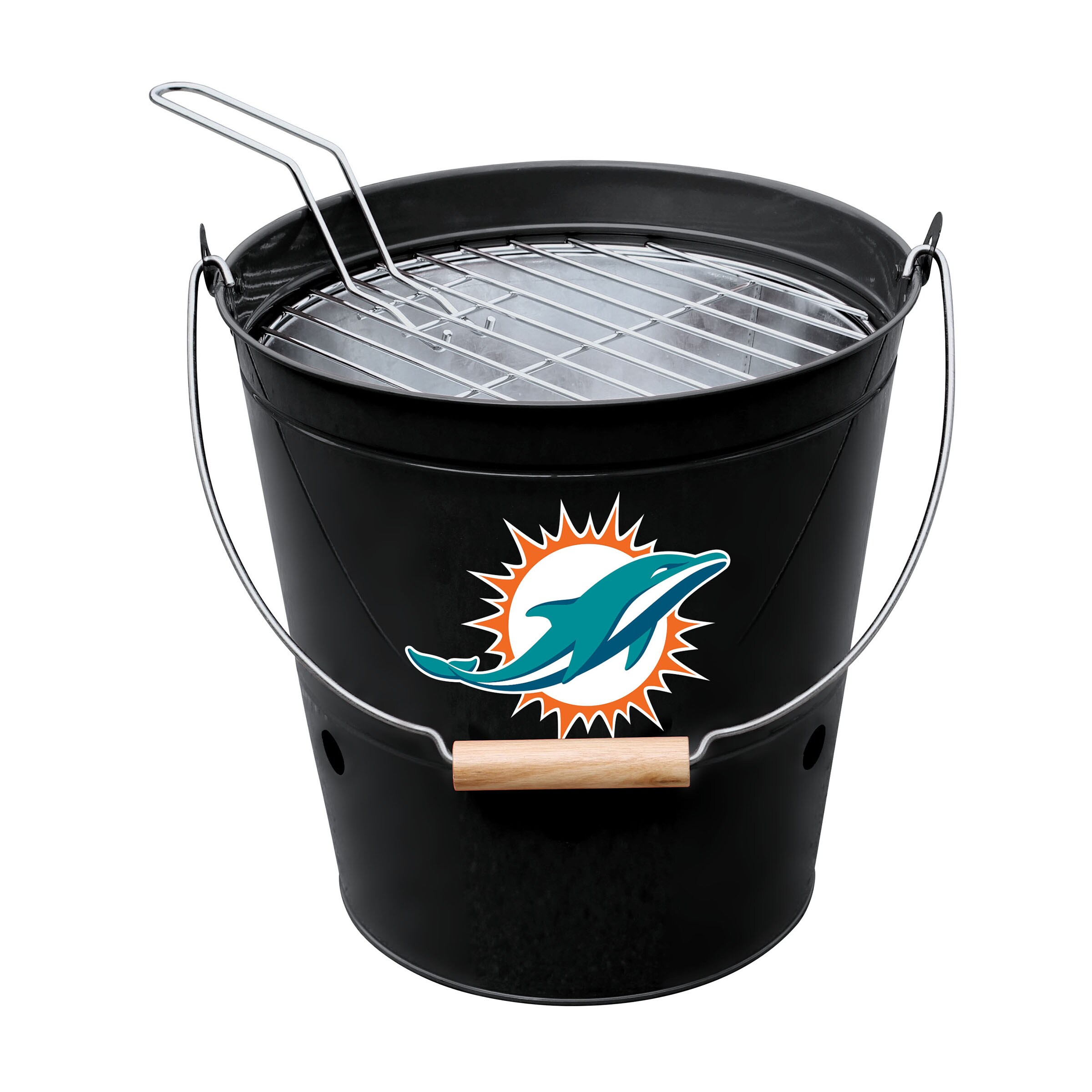 Miami Dolphins Imperial Bucket Grill - Black