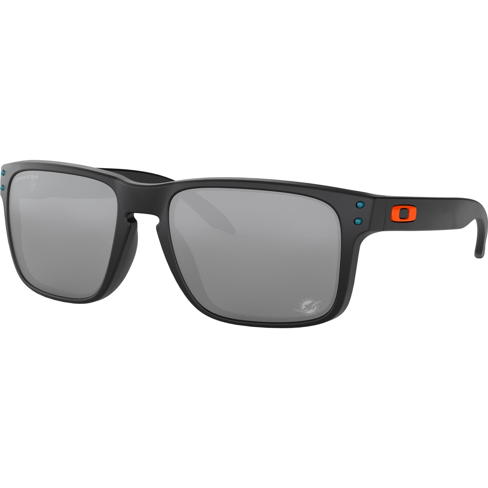 Miami Dolphins Oakley Holbrook Sunglasses