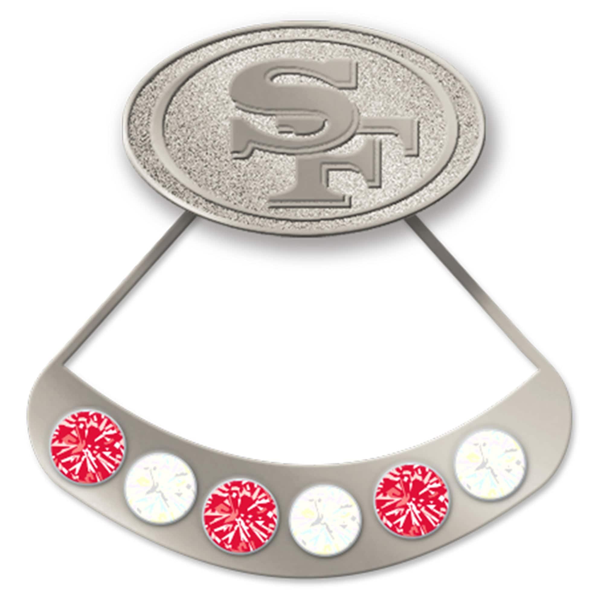 San Francisco 49ers WinCraft Hidden Gem Earrings