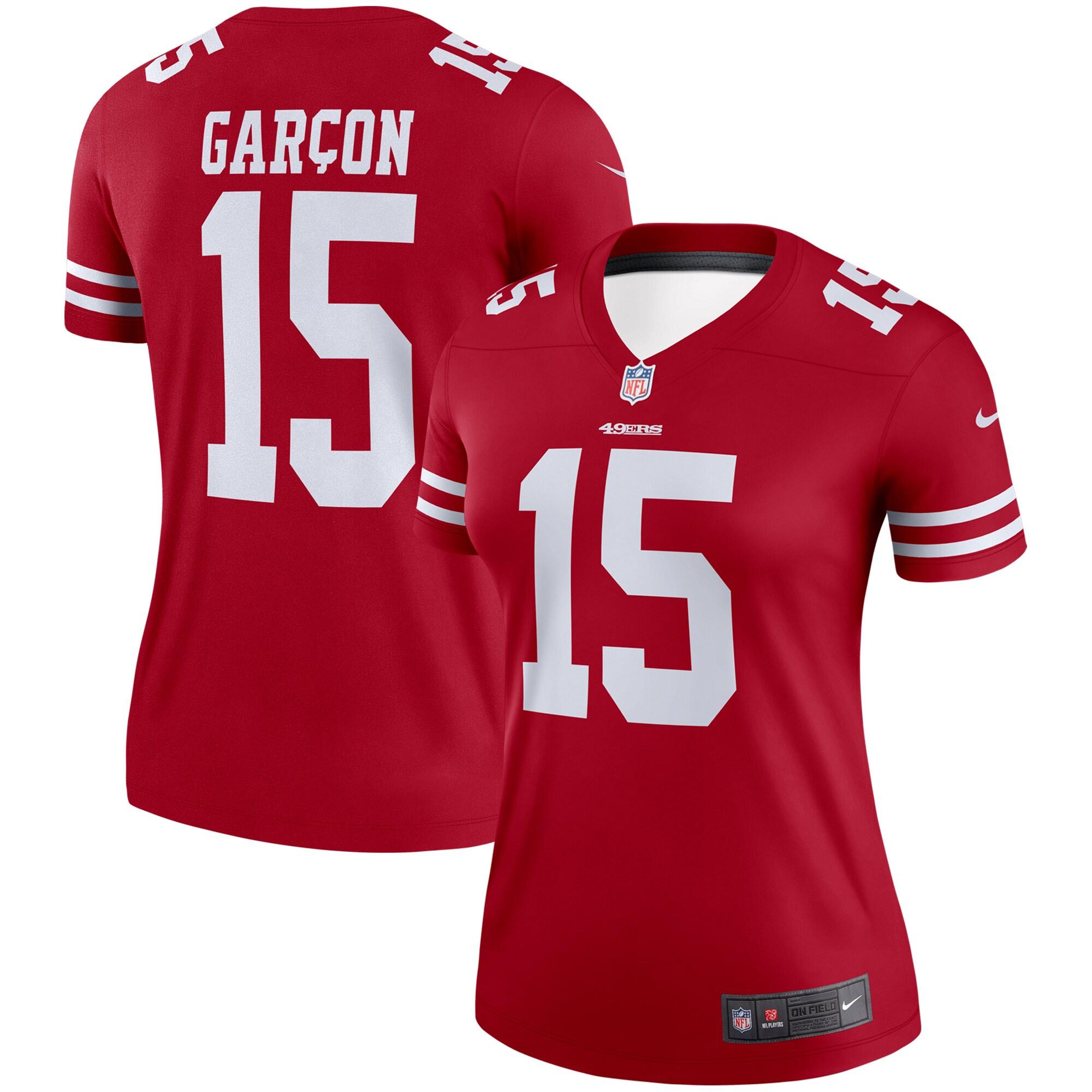 Pierre Garcon San Francisco 49ers Nike Women's Legend Jersey - Scarlet