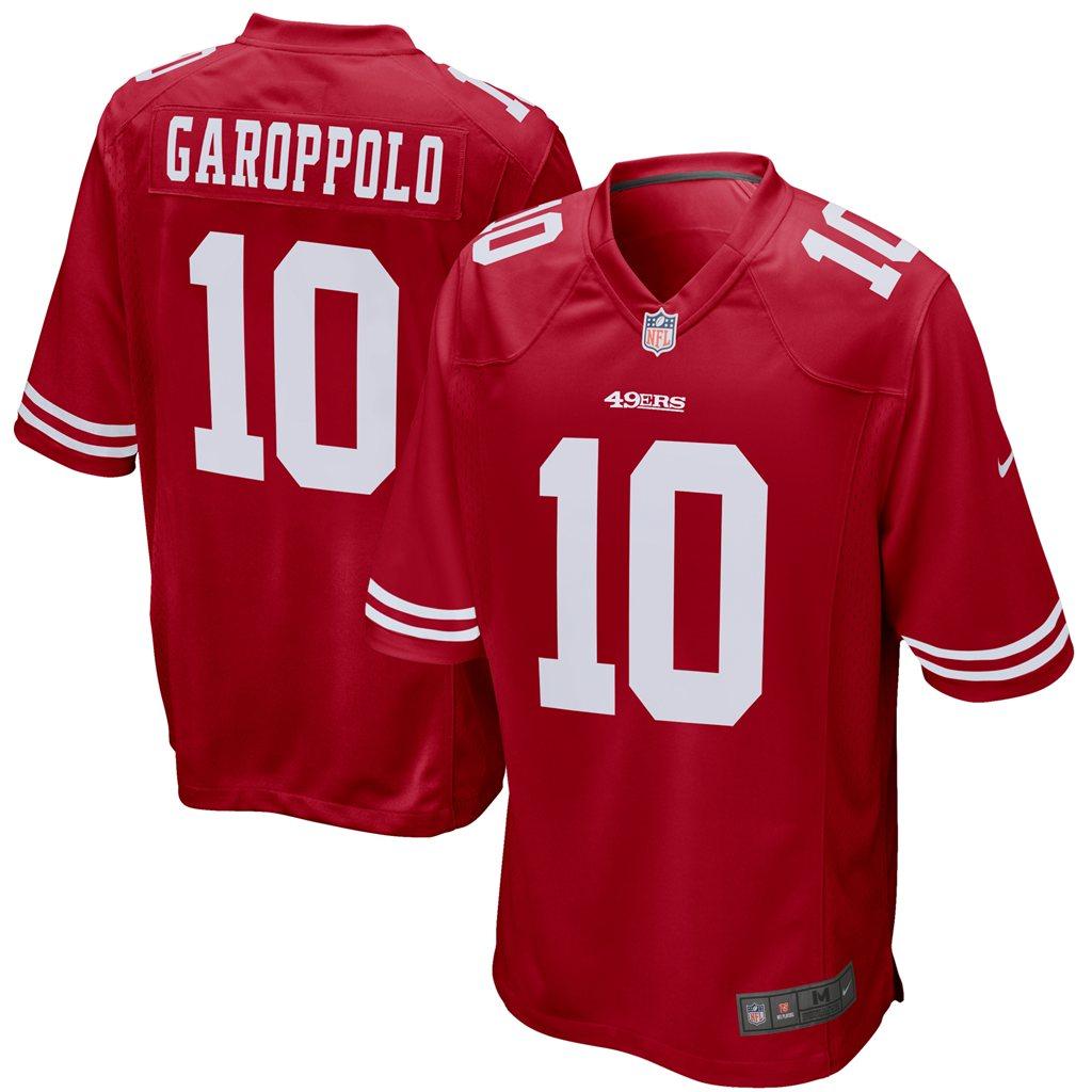Jimmy Garoppolo San Francisco 49ers Nike Youth Game Jersey - Scarlet