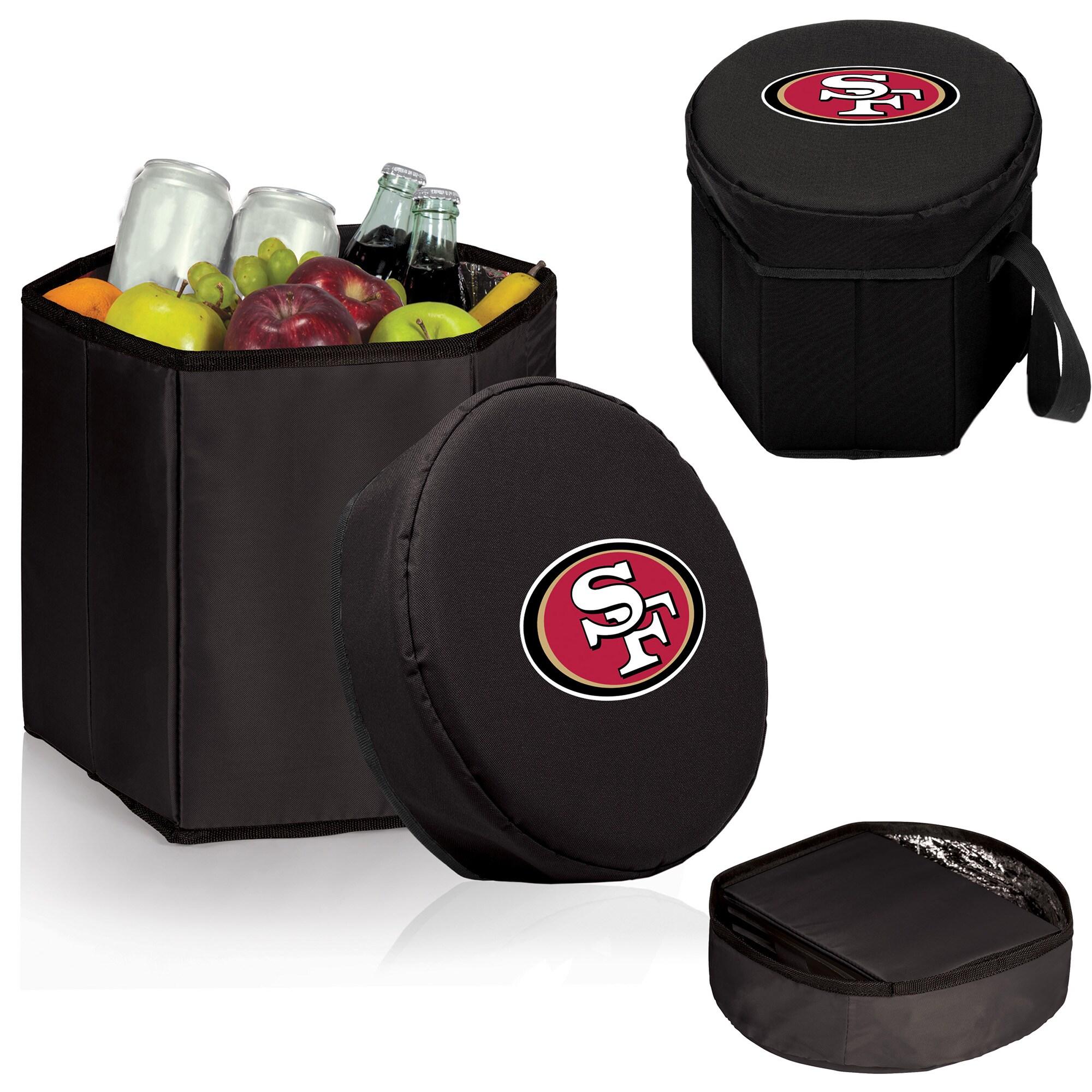 San Francisco 49ers 12 Quart Bongo Cooler - Black