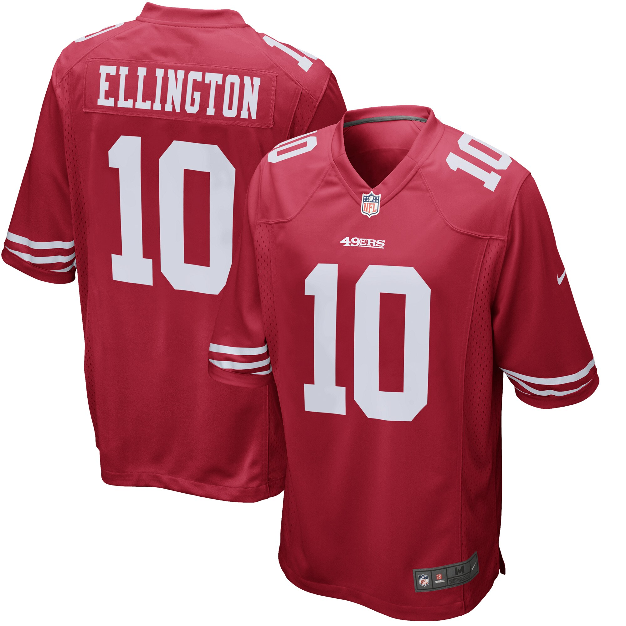 Bruce Ellington San Francisco 49ers Nike Game Jersey - Scarlet