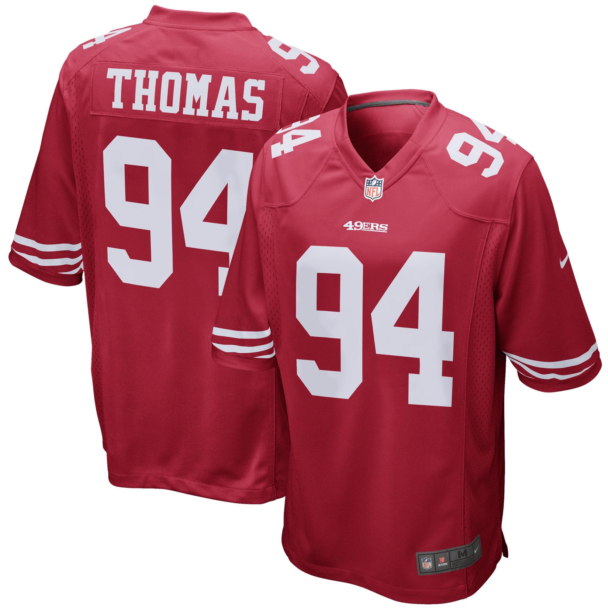 Solomon Thomas San Francisco 49ers Nike Game Jersey - Scarlet