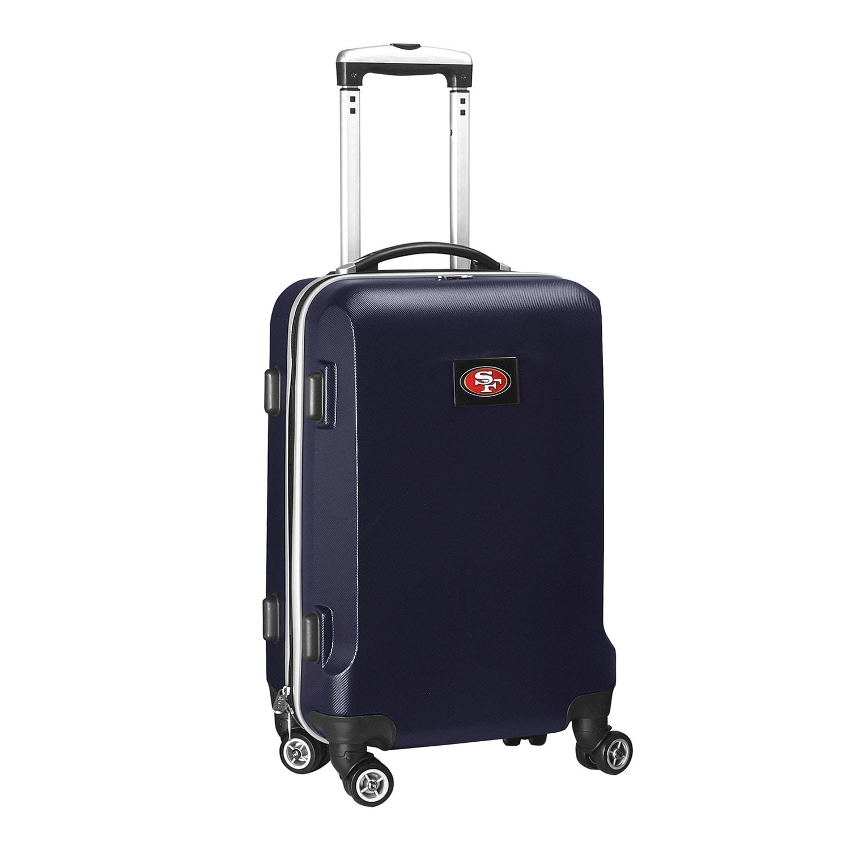"San Francisco 49ers 20"" 8-Wheel Hardcase Spinner Carry-On - Navy"
