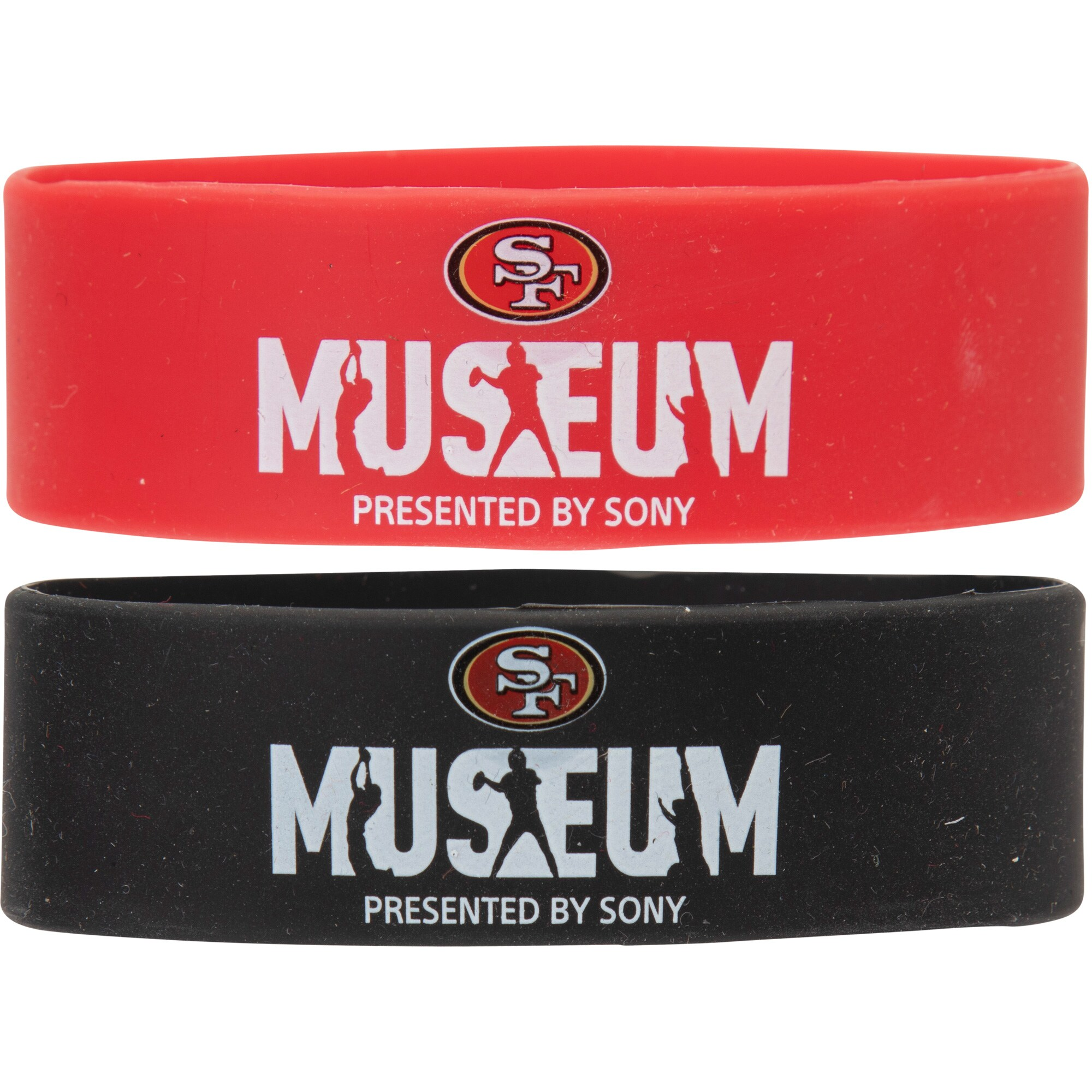 San Francisco 49ers Two-Pack Museum Wristbands