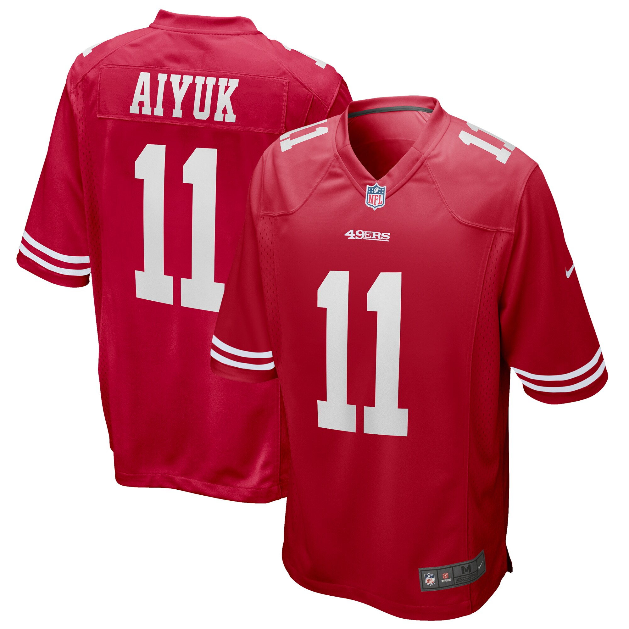 Brandon Aiyuk San Francisco 49ers Nike 2020 NFL Draft First Round Pick Game Jersey - Scarlet