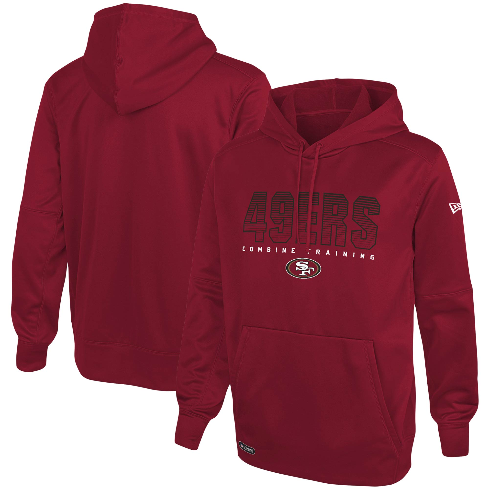 San Francisco 49ers New Era Combine Team Pride Pullover Hoodie - Scarlet