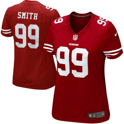 Aldon Smith San Francisco 49ers Nike Women's Limited Jersey - Red