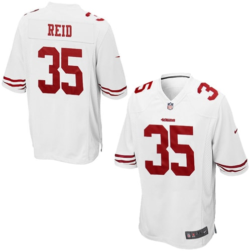 Eric Reid San Francisco 49ers Nike Youth Game Jersey - White