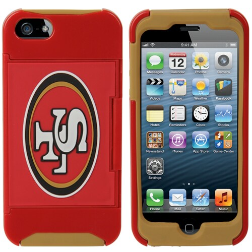 San Francisco 49ers iPhone 5 Credit Card Case
