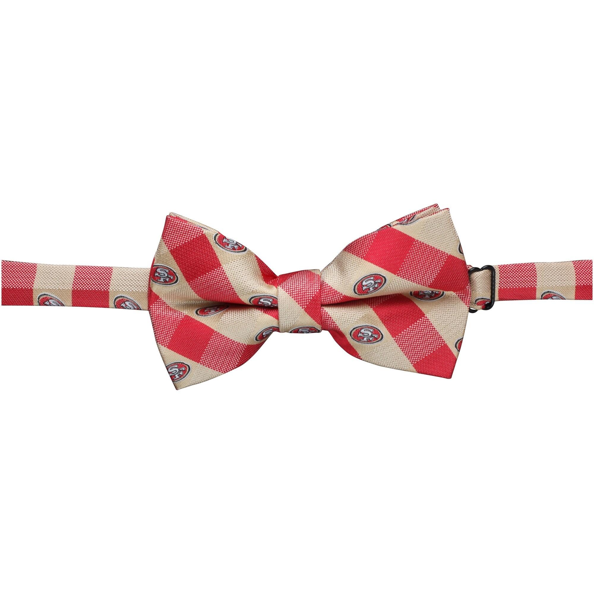 San Francisco 49ers Check Bow Tie