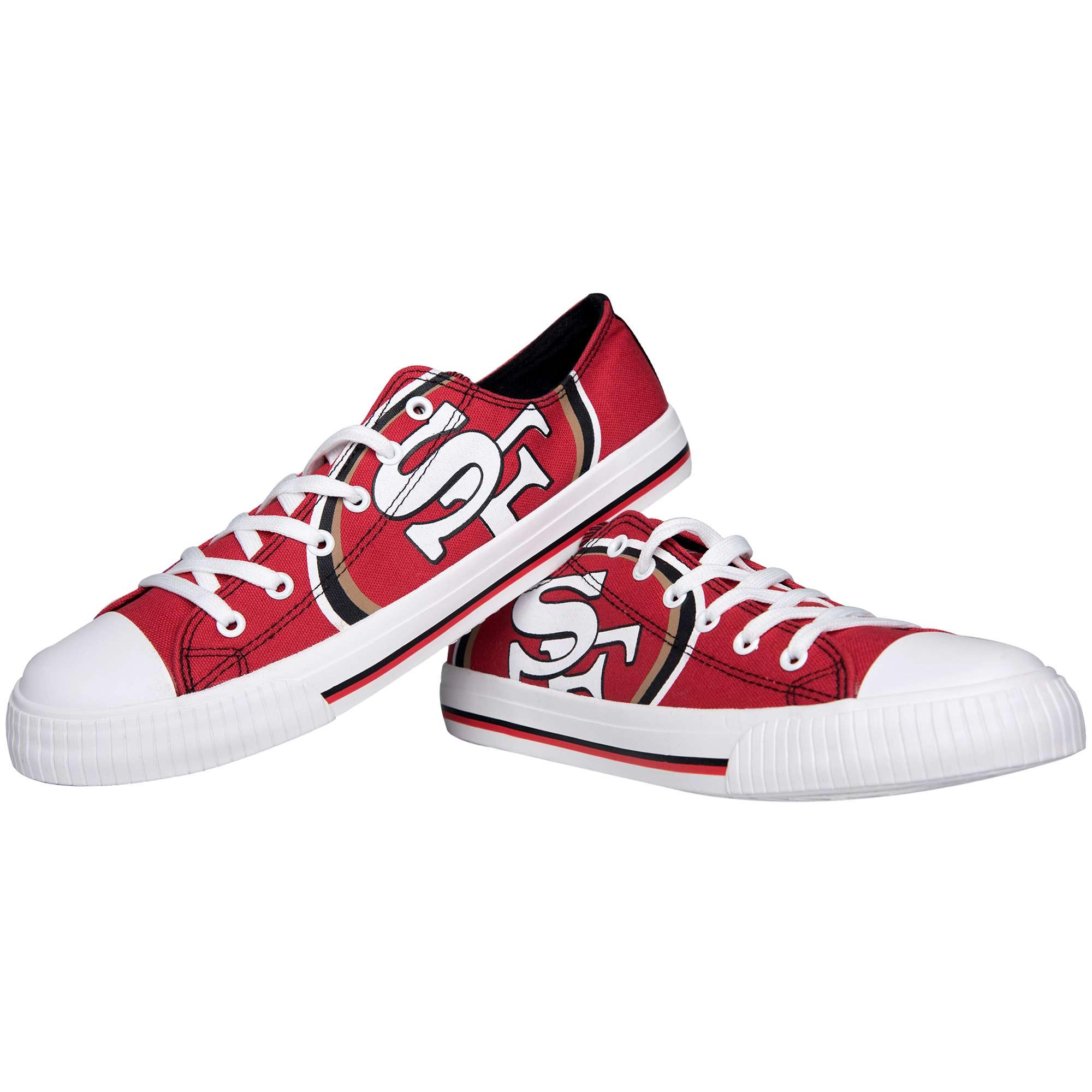San Francisco 49ers Big Logo Low Top Sneakers
