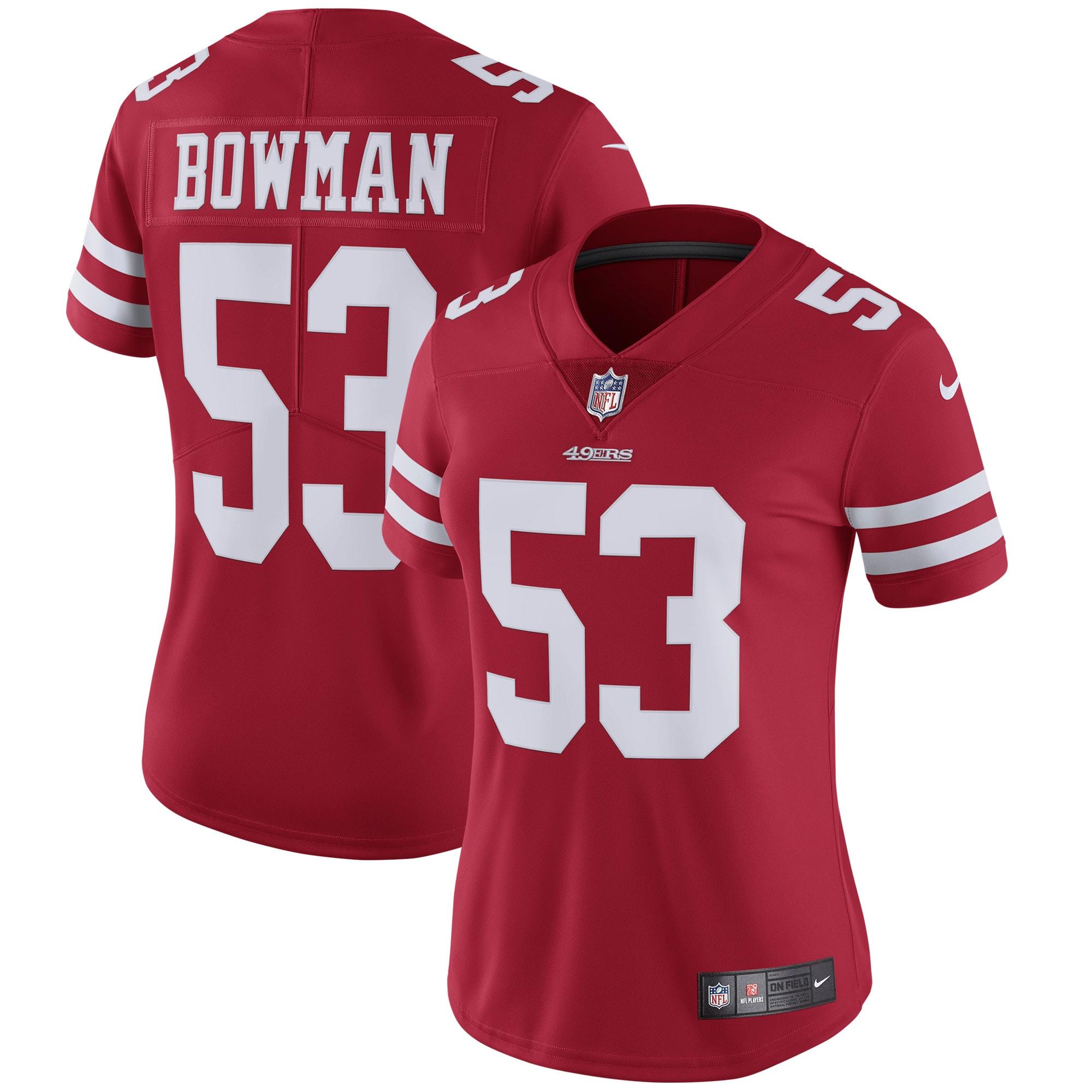 NaVorro Bowman San Francisco 49ers Nike Women's Vapor Untouchable Limited Player Jersey - Scarlet