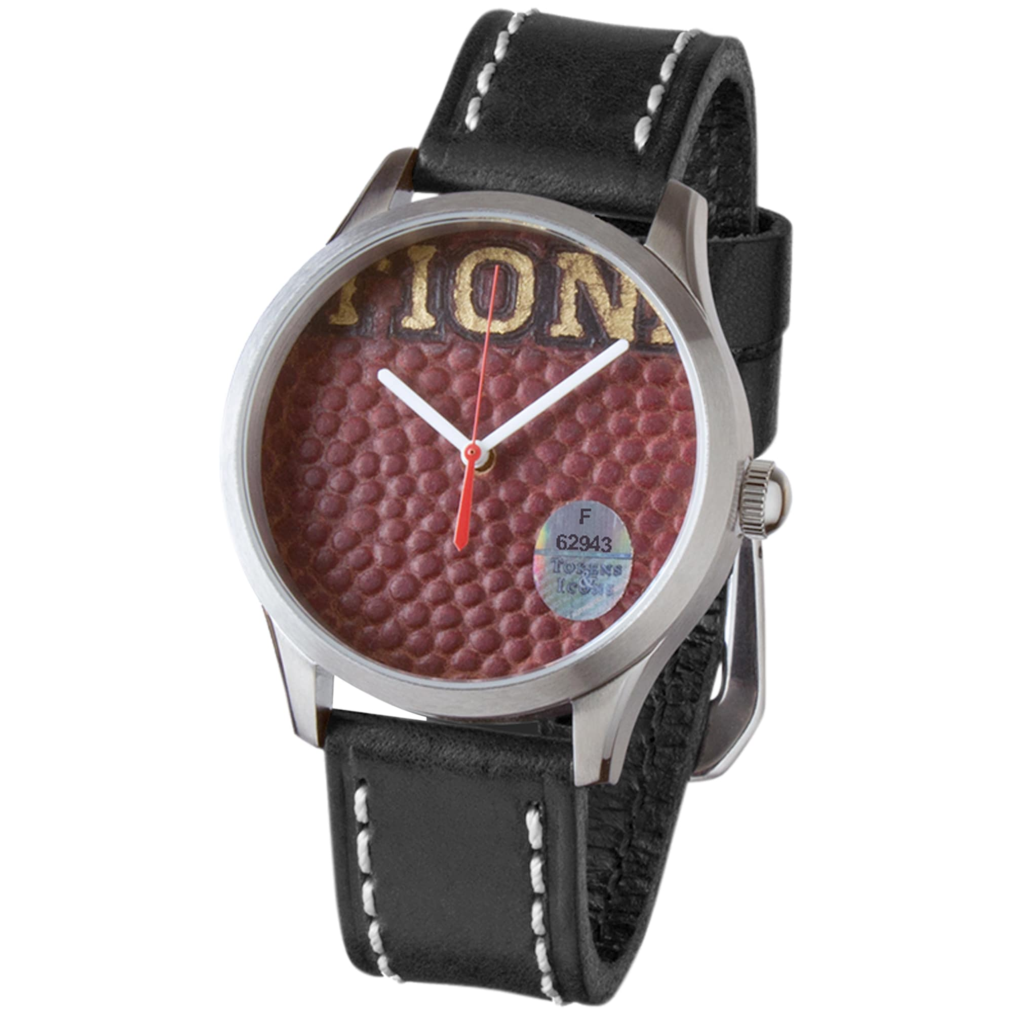 San Francisco 49ers Tokens & Icons Game Used Football Watch
