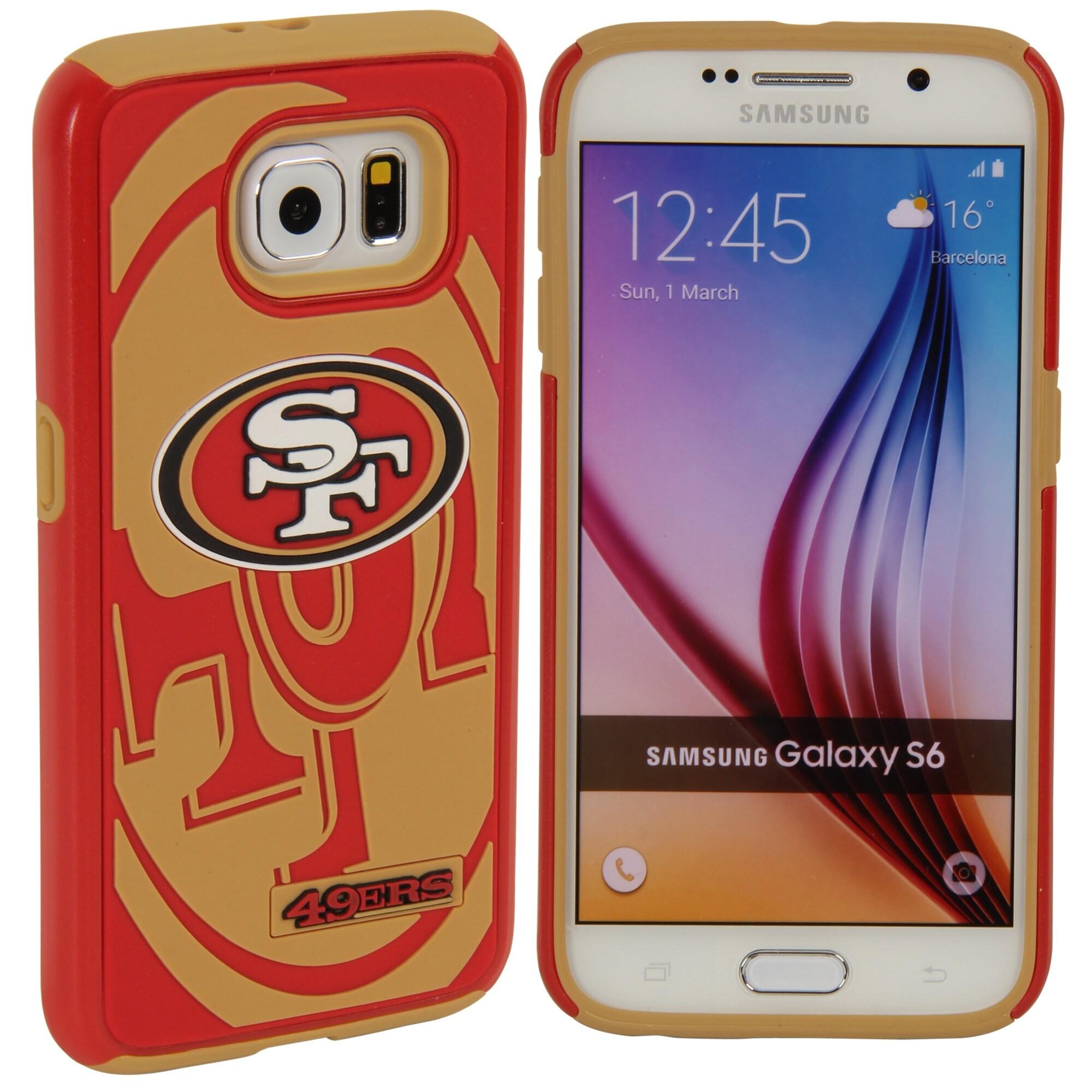 San Francisco 49ers Galaxy S6 Dual Hybrid Case