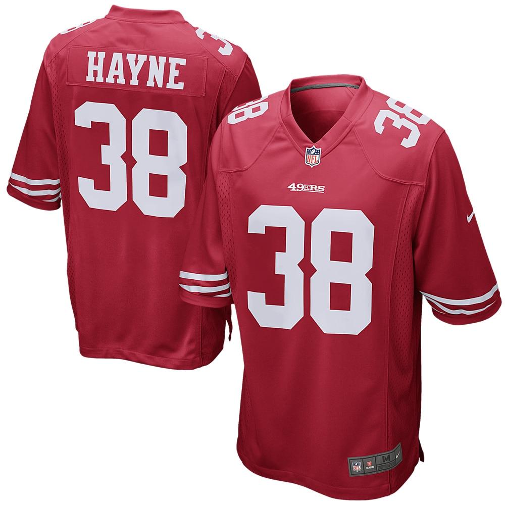 Jarryd Hayne San Francisco 49ers Nike Game Jersey - Scarlet