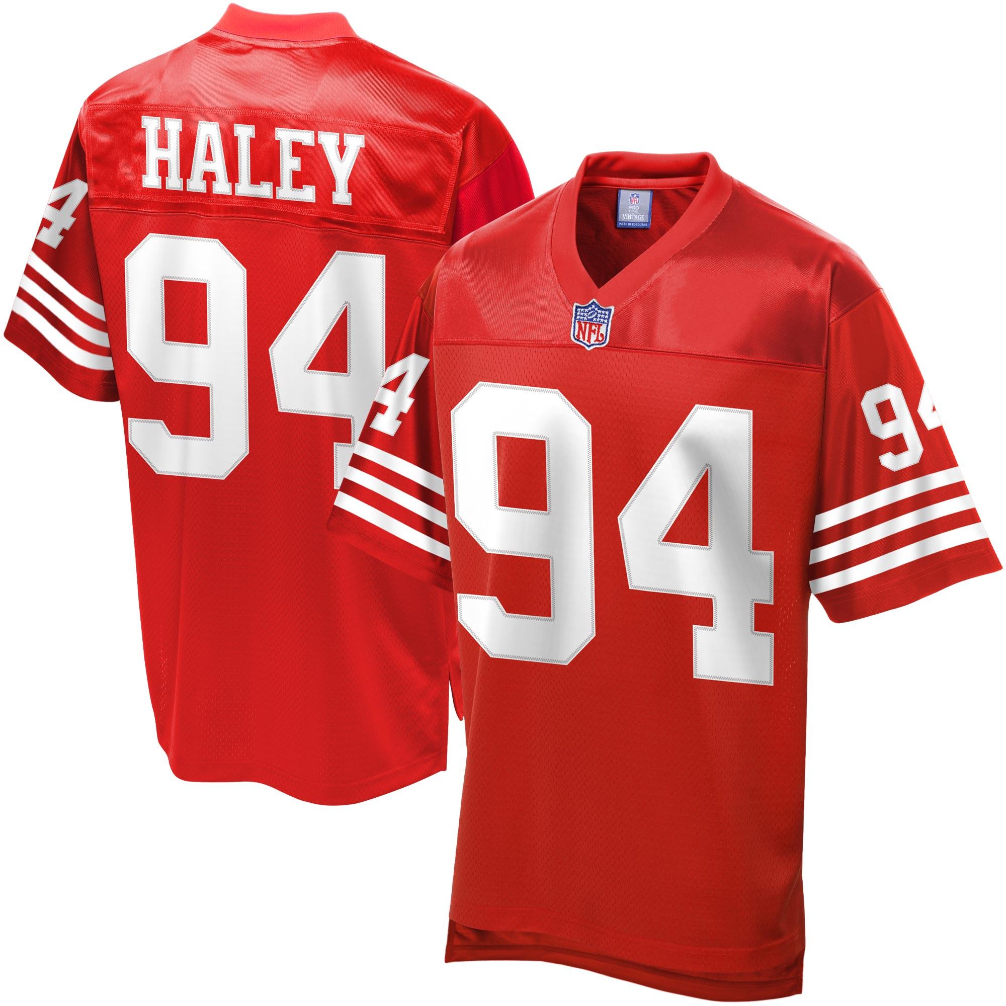 Charles Haley San Francisco 49ers NFL Pro Line Retired Player Jersey - Scarlet