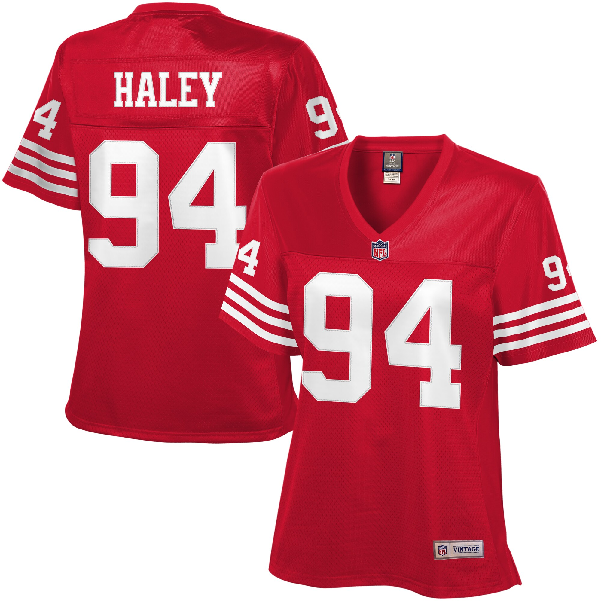 Charles Haley San Francisco 49ers NFL Pro Line Women's Retired Player Jersey - Scarlet