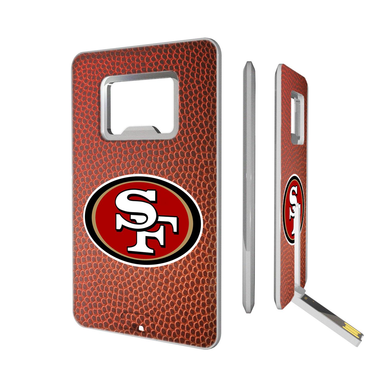 San Francisco 49ers Football Credit Card USB Drive & Bottle Opener