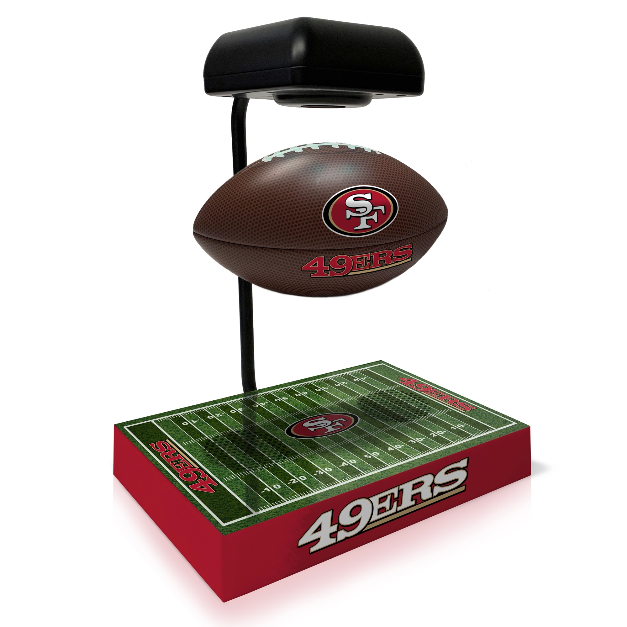 San Francisco 49ers Hover Football With Bluetooth Speaker