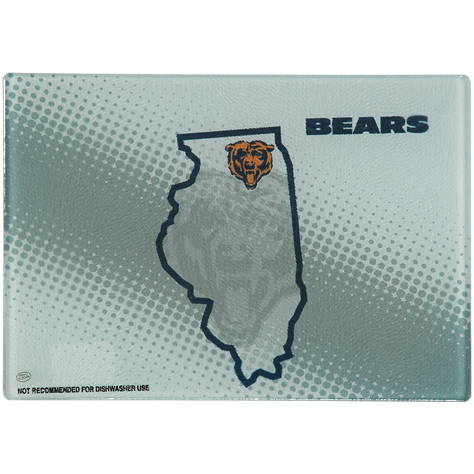 "Chicago Bears 8"" x 11.75"" State of Mind Cutting board"
