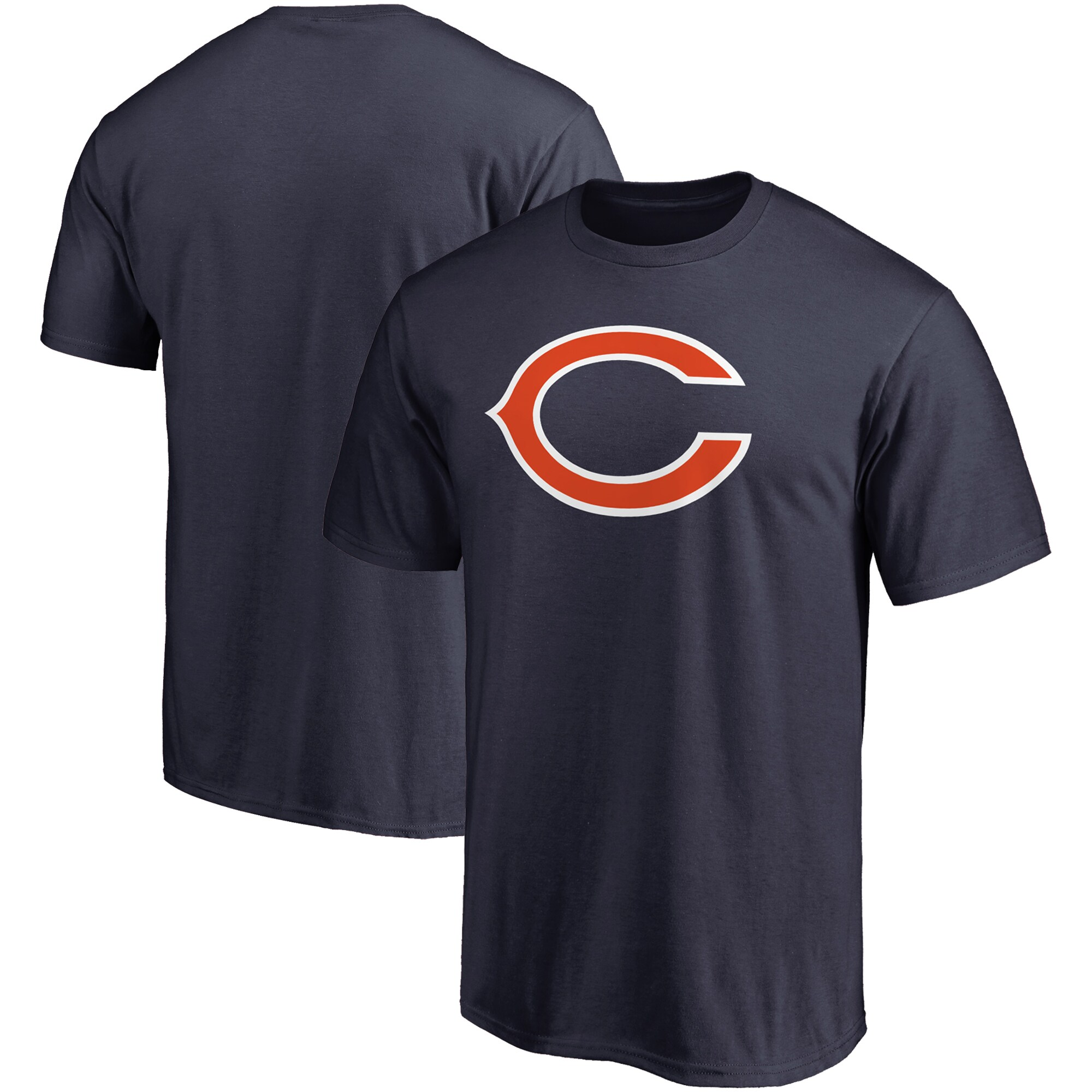 Chicago Bears NFL Pro Line Primary Logo T-Shirt - Navy