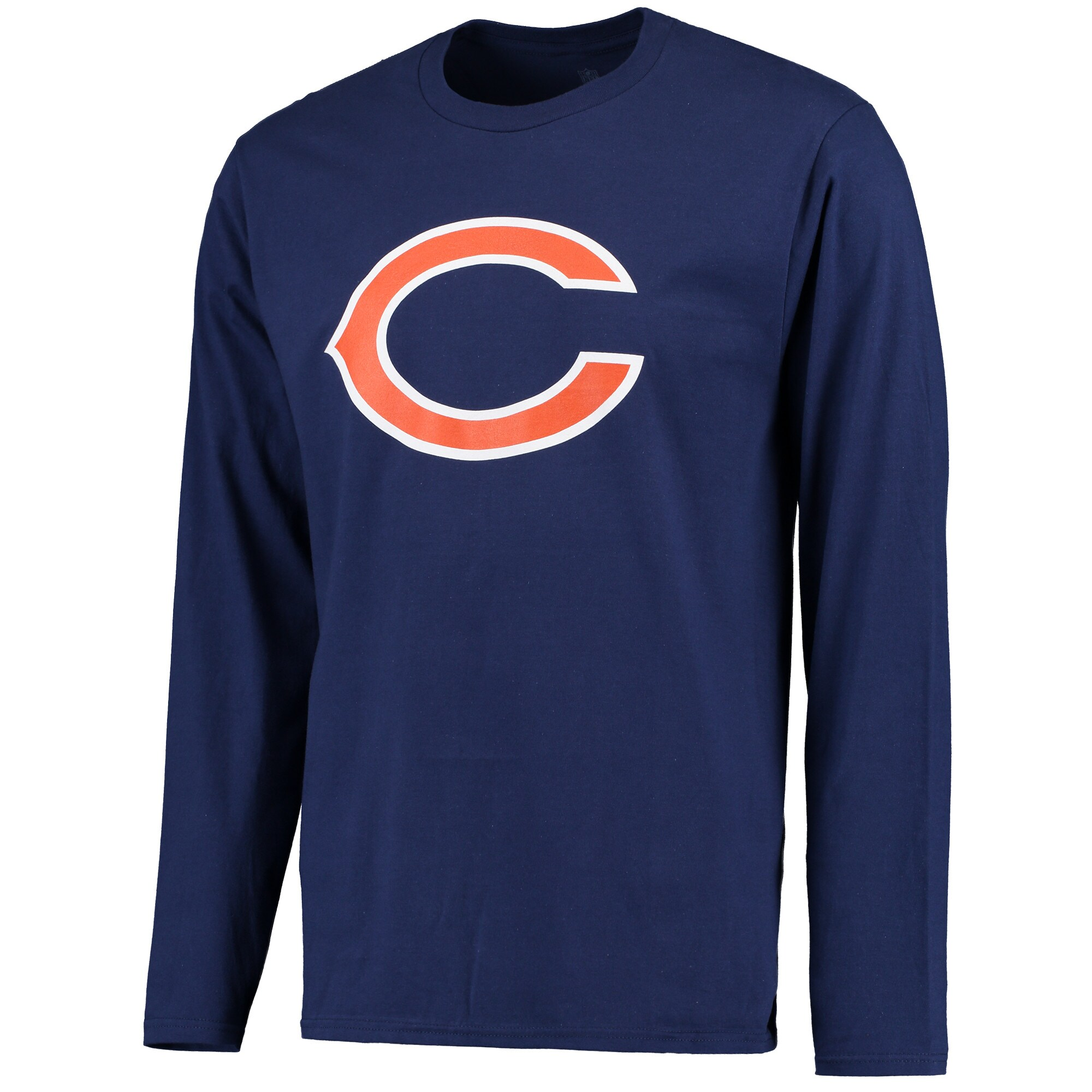 Chicago Bears NFL Pro Line Primary Logo Long Sleeve T-Shirt - Navy