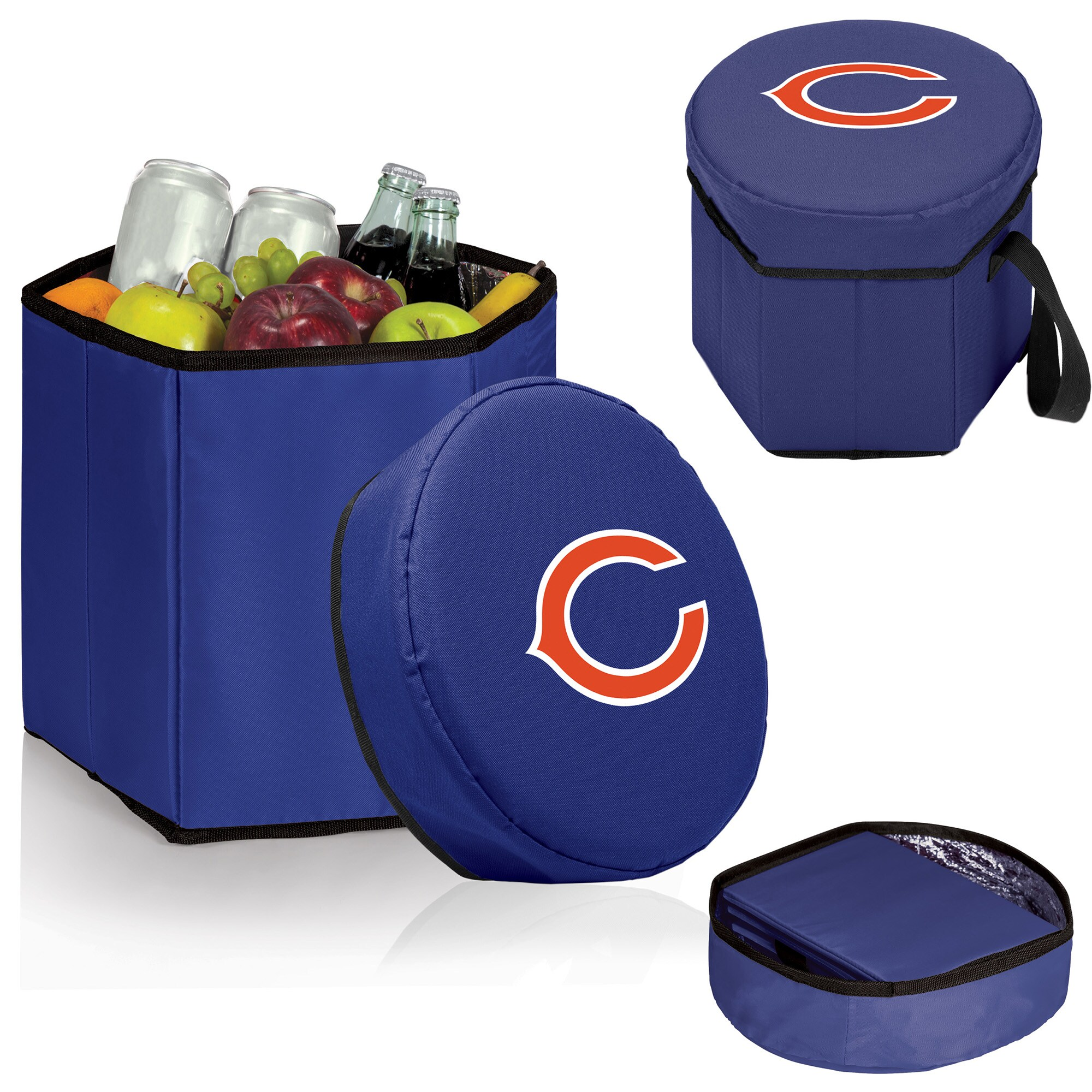 Chicago Bears 12 Quart Bongo Cooler - Navy