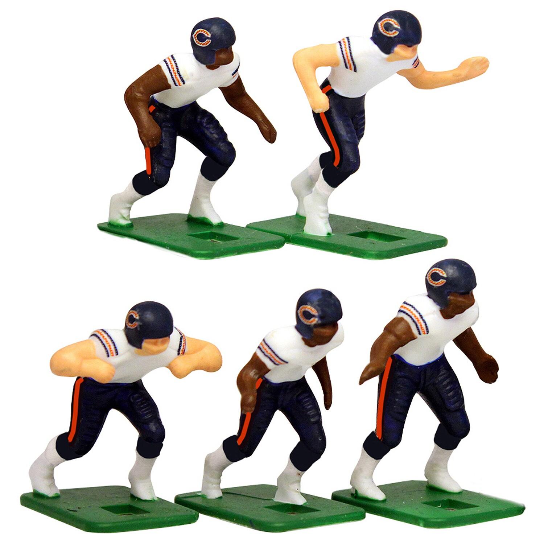 Chicago Bears White Uniform Action Figures Set