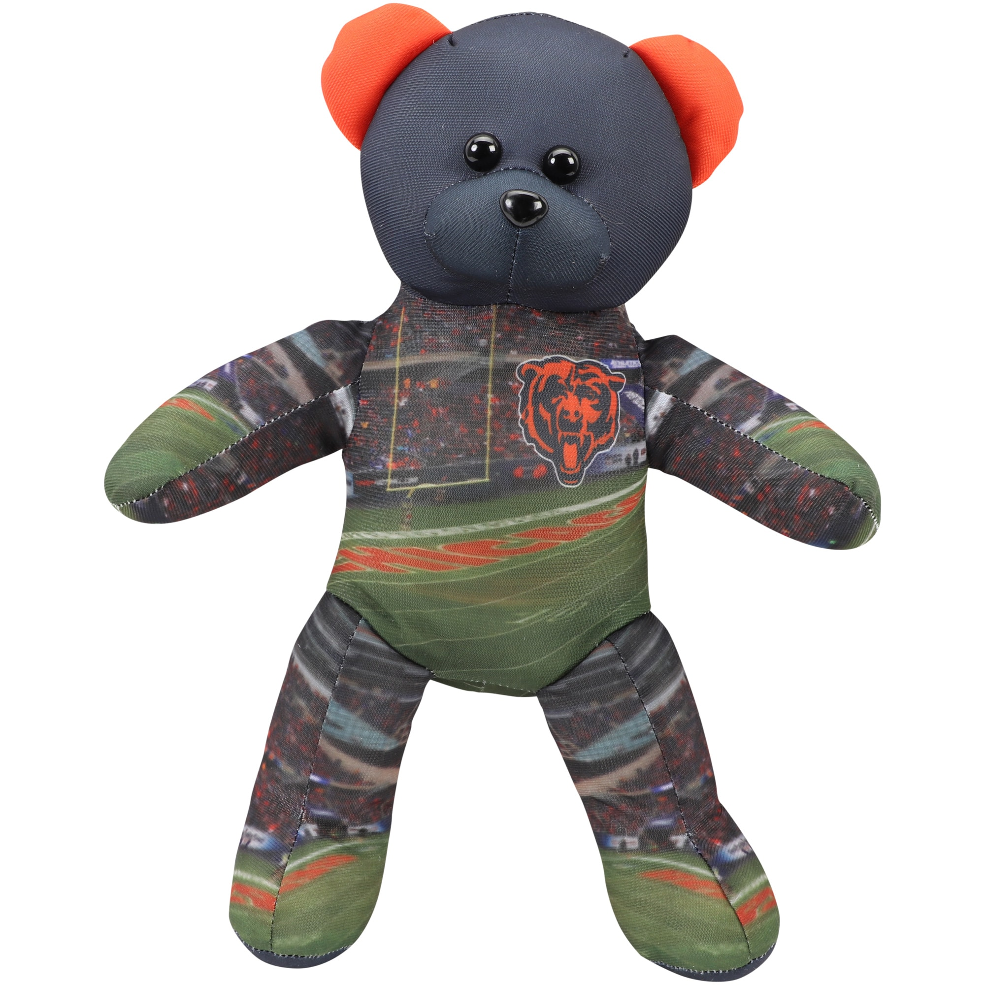 "Chicago Bears 14"" Printed Stadium Bear"
