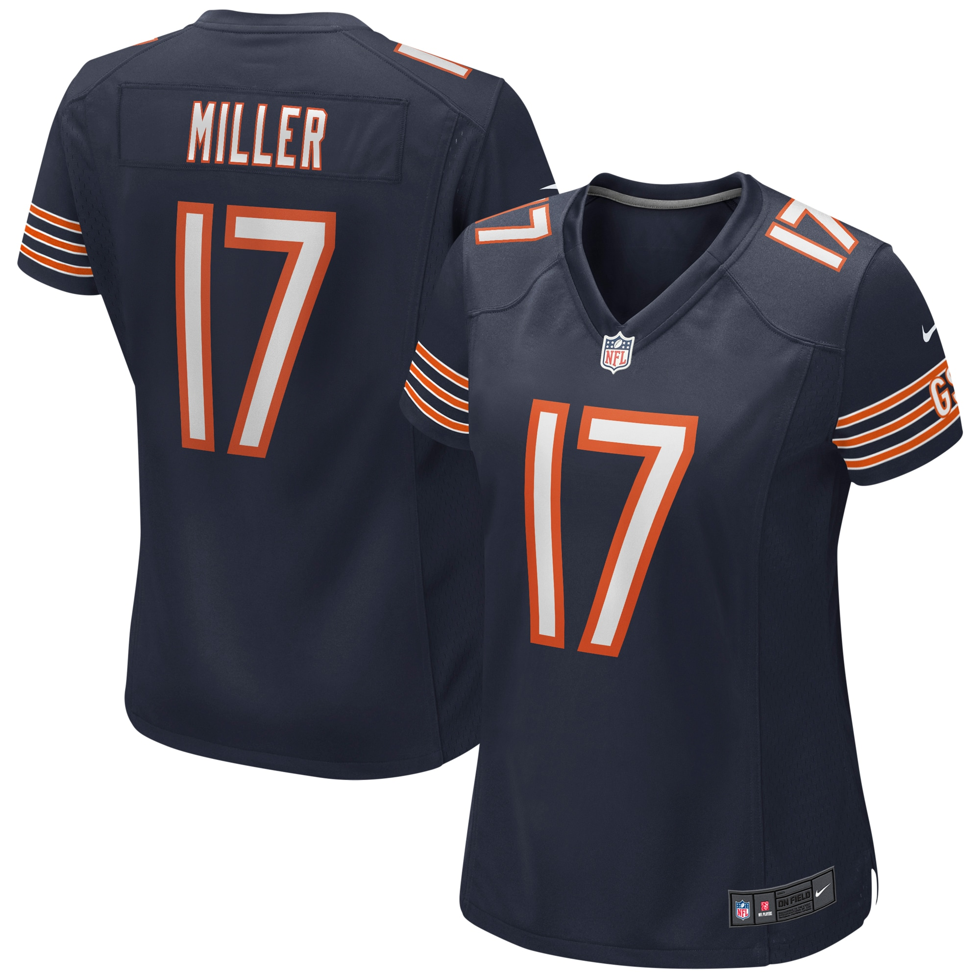 Anthony Miller Chicago Bears Nike Women's Game Jersey - Navy