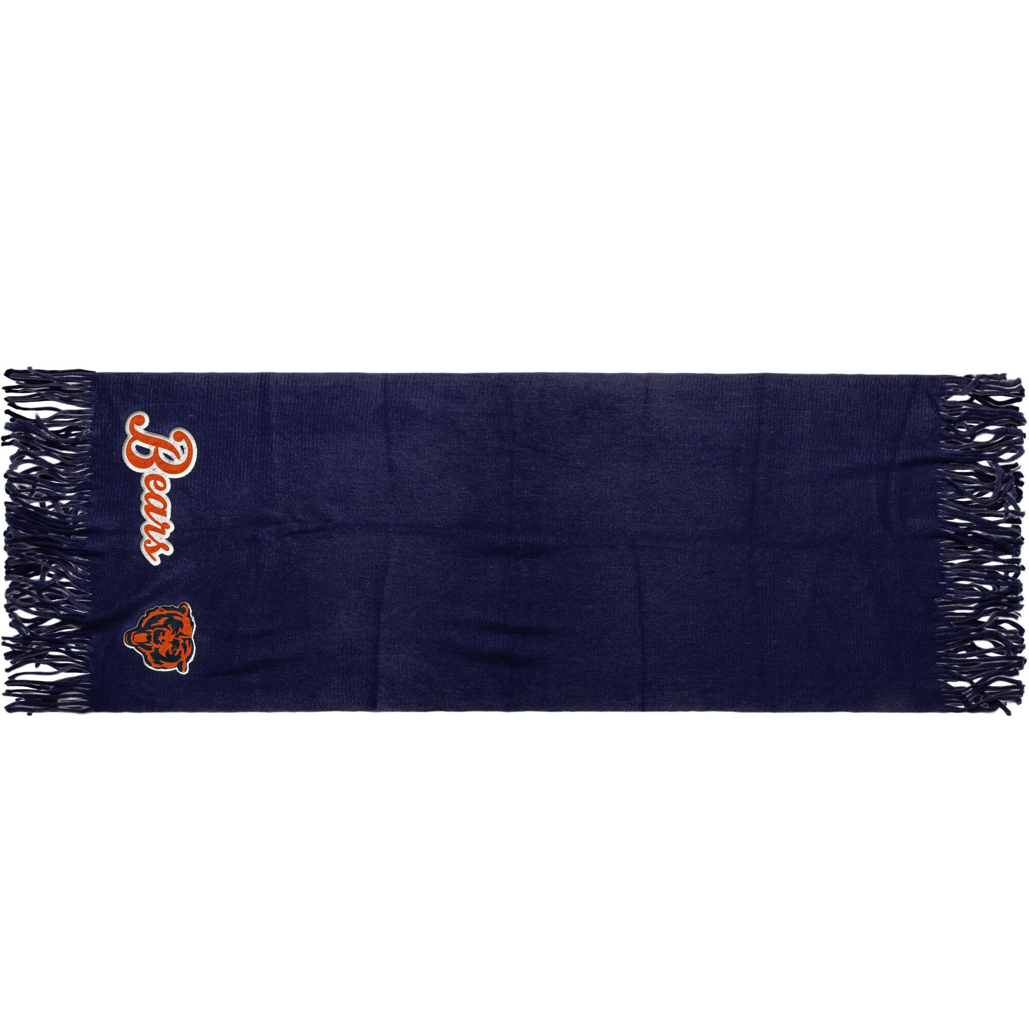 """Chicago Bears 81"""" x 27"""" Oversized Fringed Scarf"""