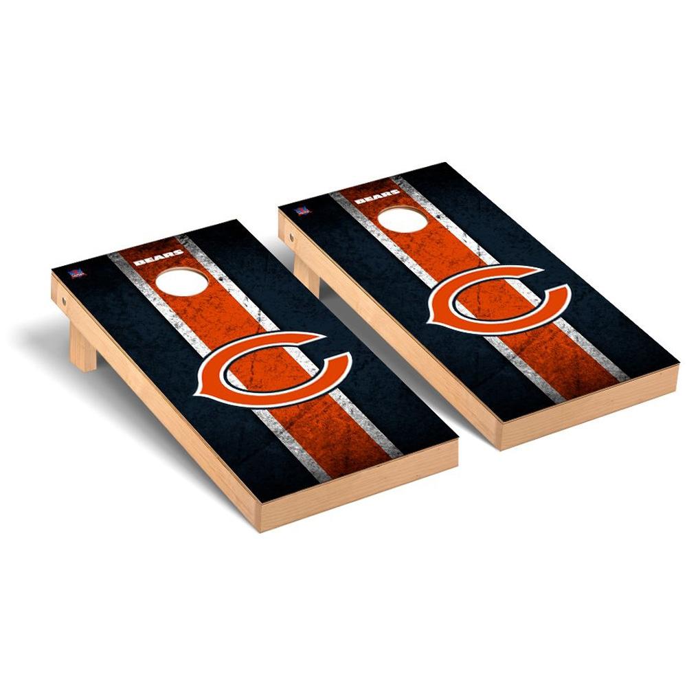 Chicago Bears 2' x 4' Vintage Regulation Cornhole Board Tailgate Toss Set