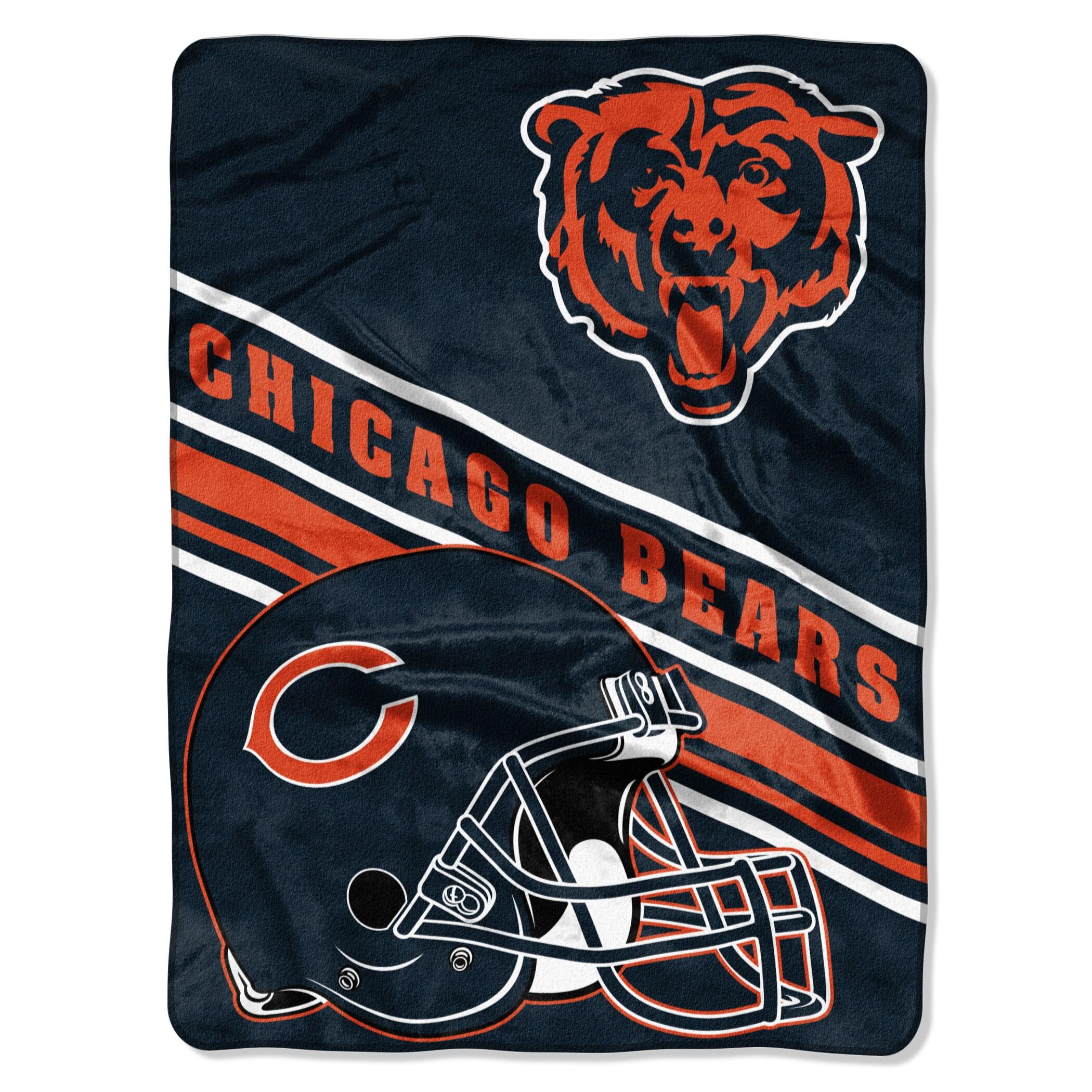 Chicago Bears The Northwest Company 60'' x 80'' Slant Rashcel Throw