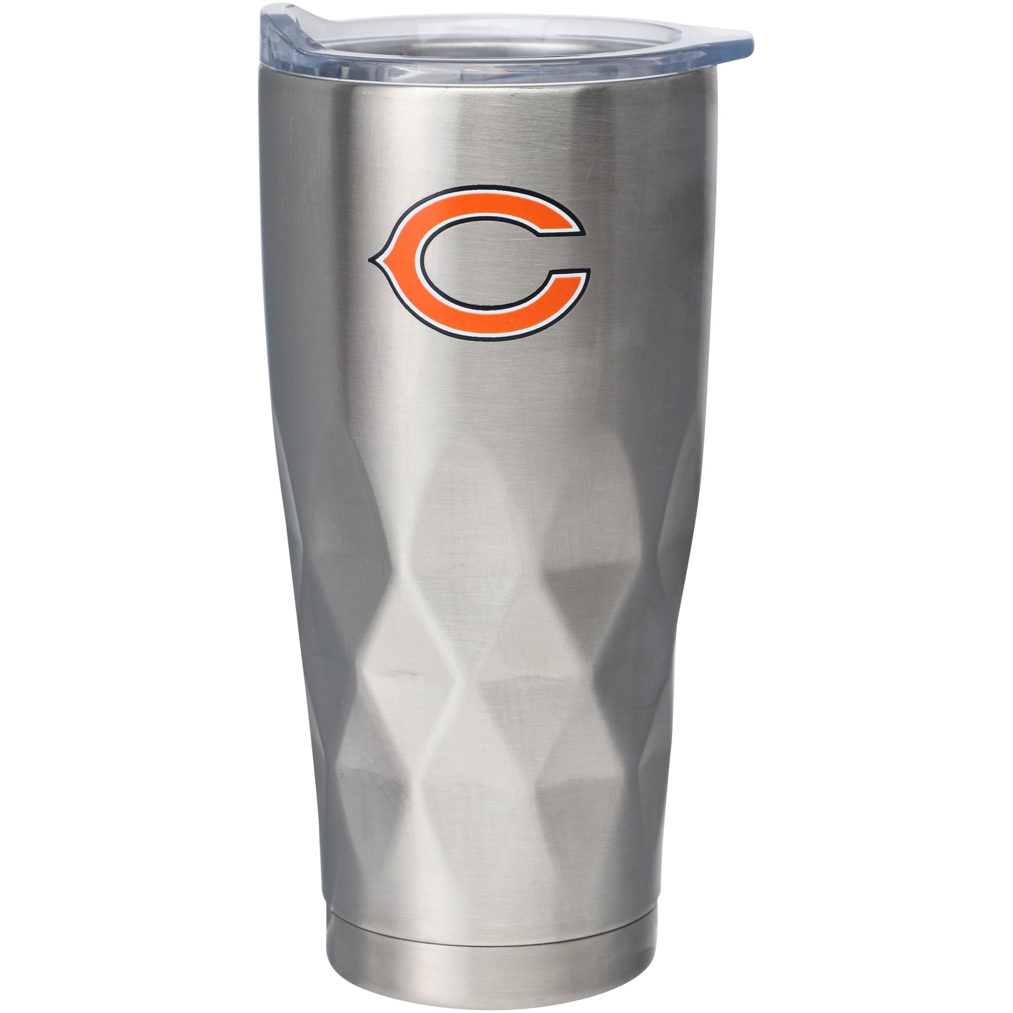 Chicago Bears 22oz. Diamond Bottom Stainless Steel Tumbler