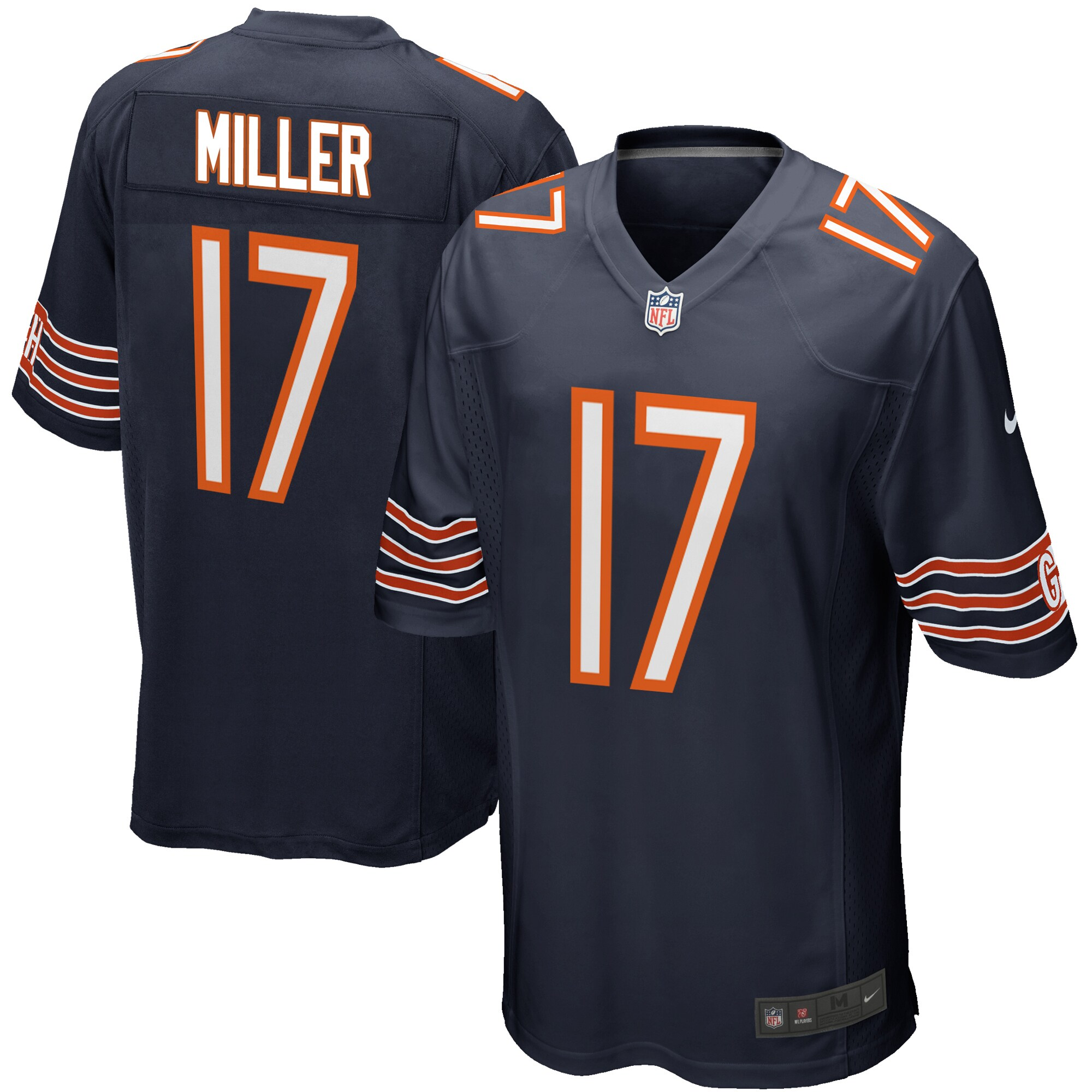 Anthony Miller Chicago Bears Nike Game Player Jersey - Navy