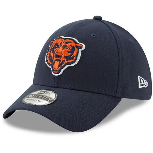 Chicago Bears New Era 39THIRTY Flex Team Classic Hat - Navy