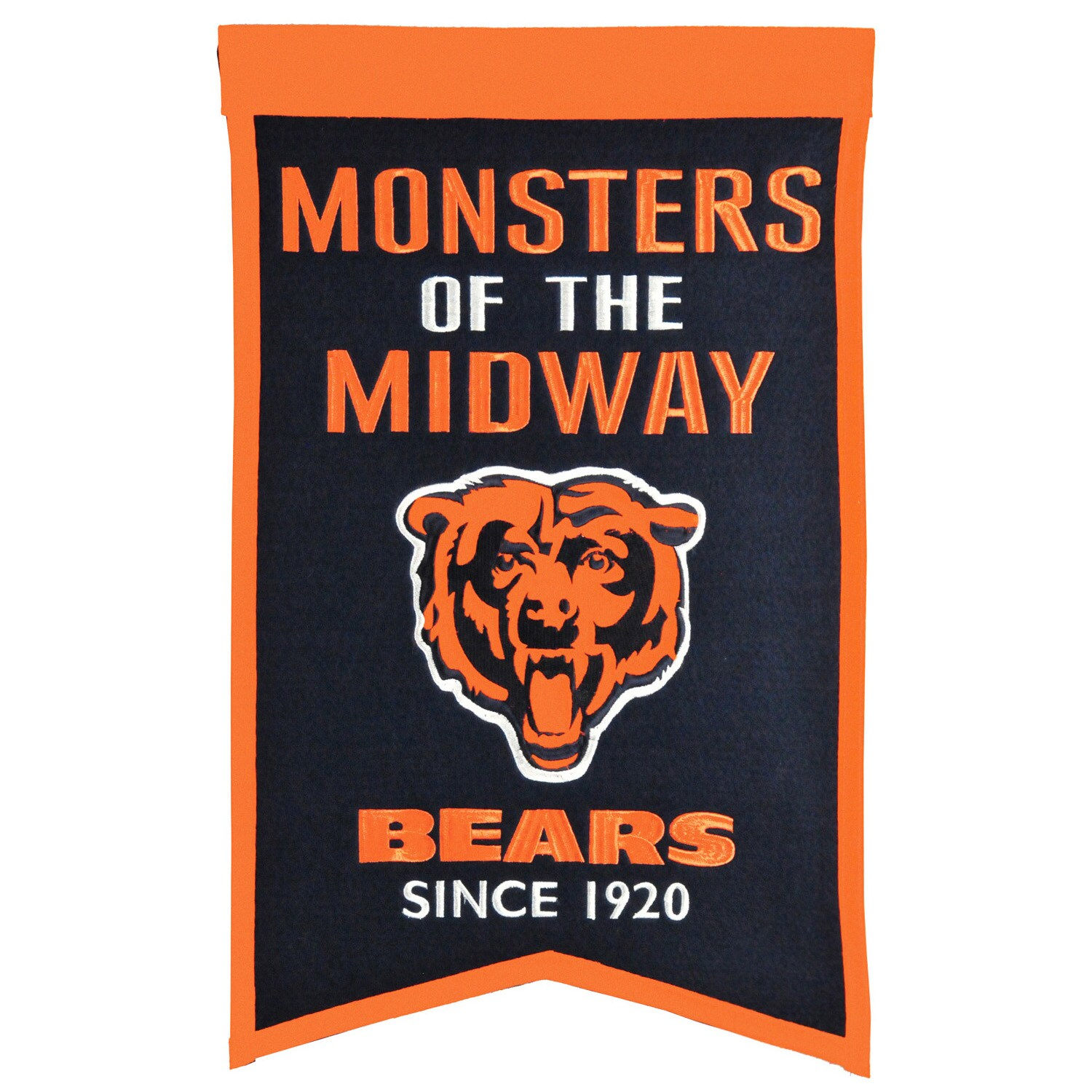 "Chicago Bears 14"" x 22"" Team Franchise Banner"