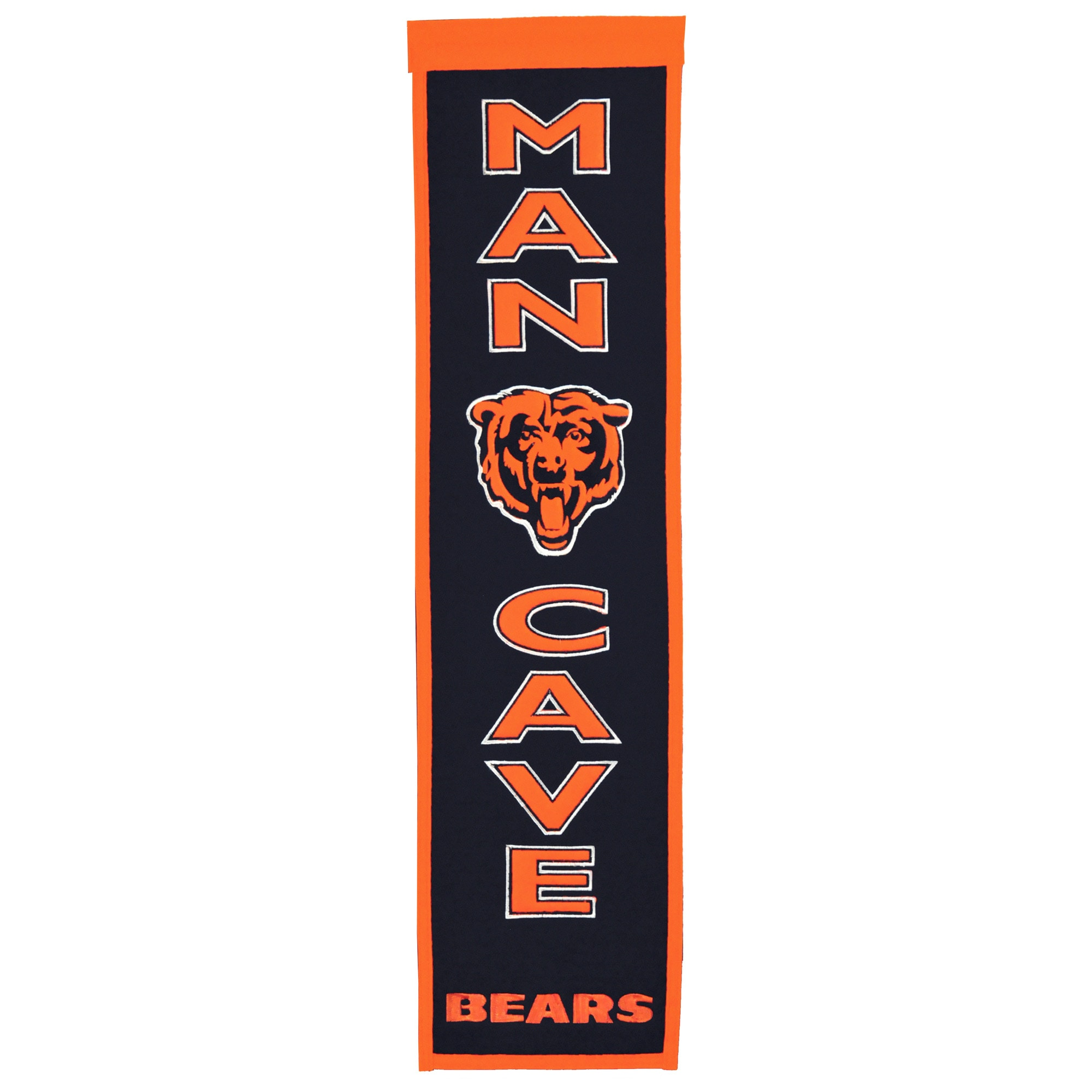 "Chicago Bears 8"" x 32"" Man Cave Banner"