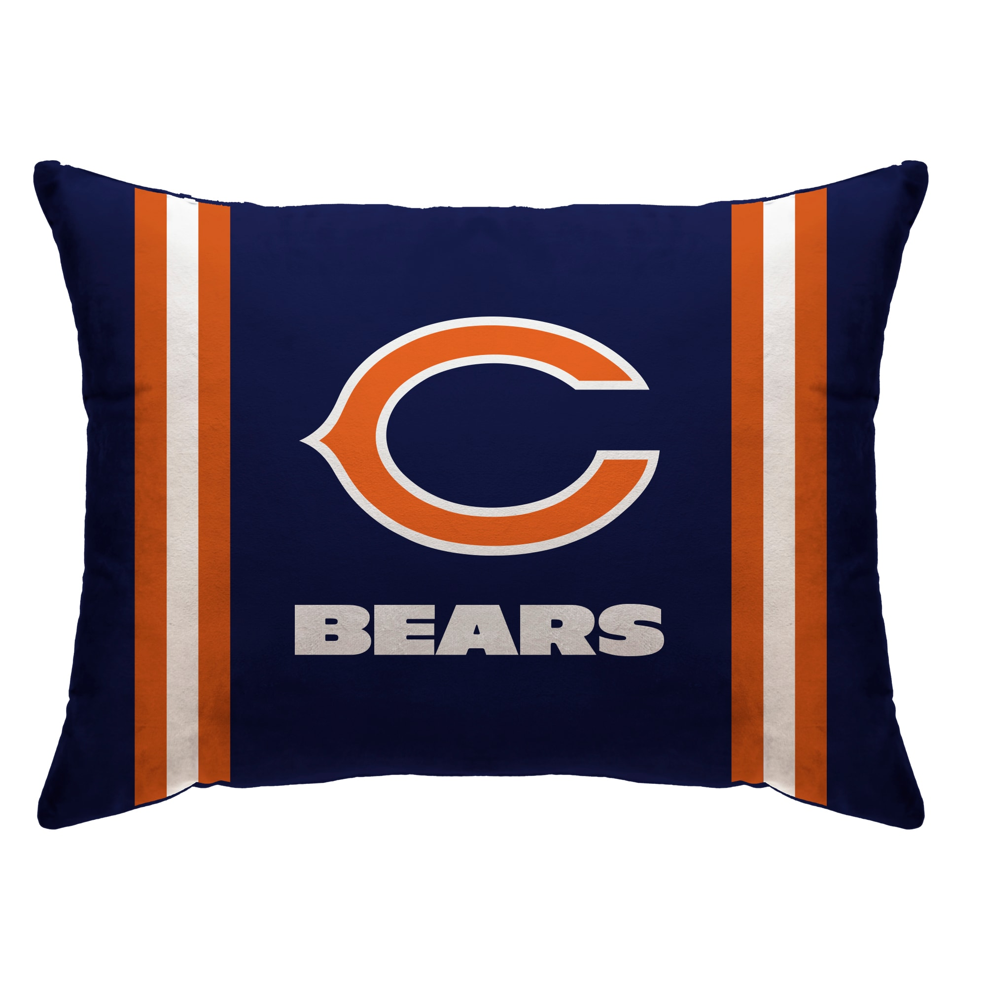 """Chicago Bears 20"""" x 26"""" Plush Bed Pillow - Blue"""