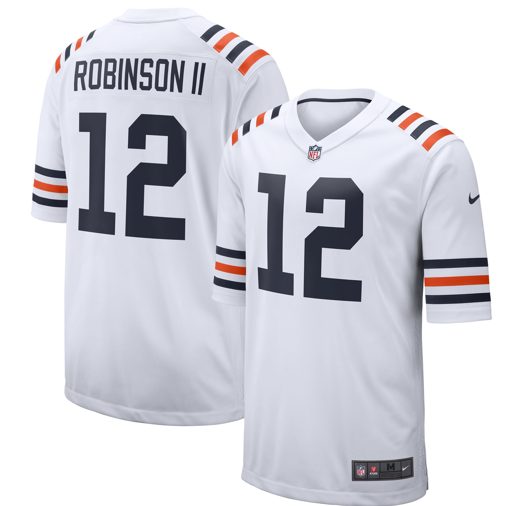 Allen Robinson Chicago Bears Nike 2019 Alternate Classic Game Jersey - White
