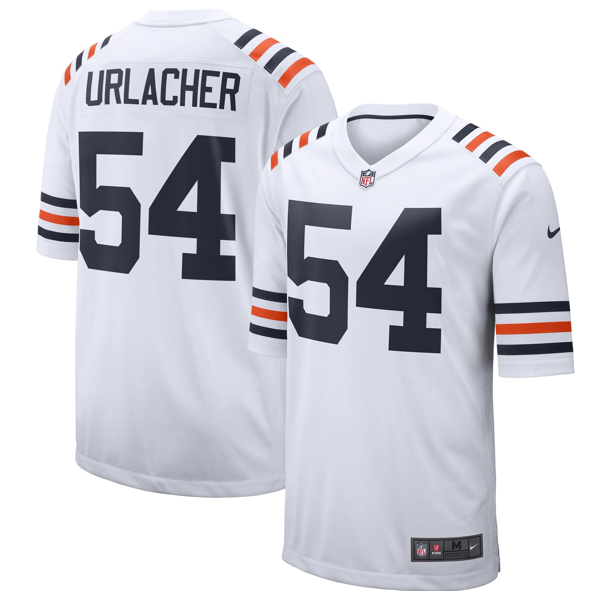 Brian Urlacher Chicago Bears Nike 2019 Alternate Classic Retired Player Game Jersey - White
