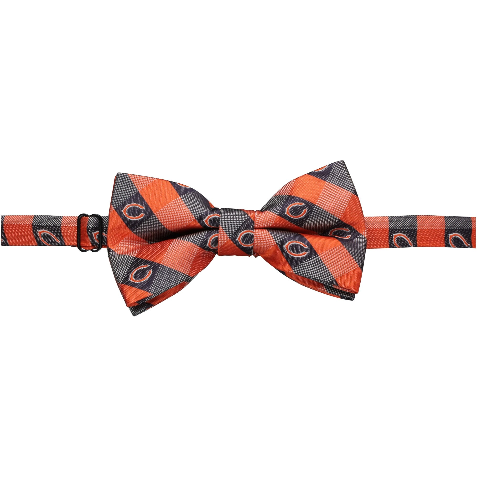 Chicago Bears Check Bow Tie