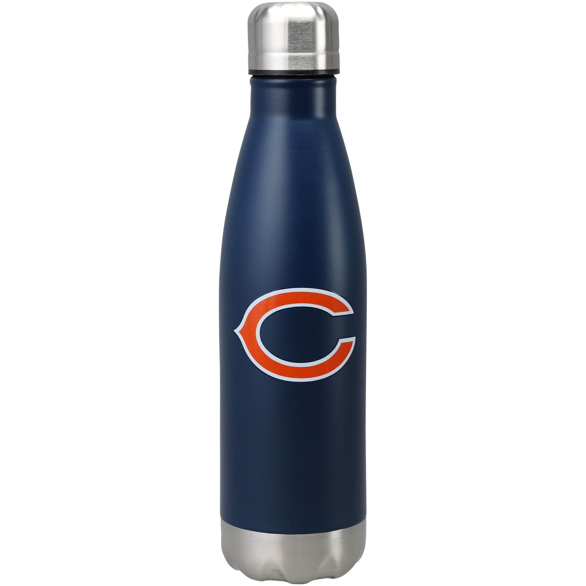 Chicago Bears 17oz. Team Color Stainless Steel Water Bottle