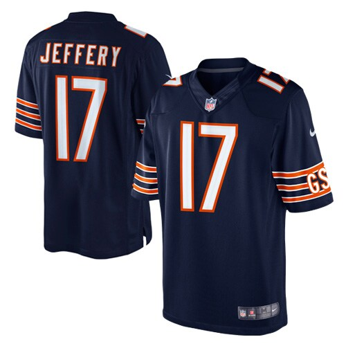 Alshon Jeffery Chicago Bears Nike Team Color Limited Jersey - Navy Blue