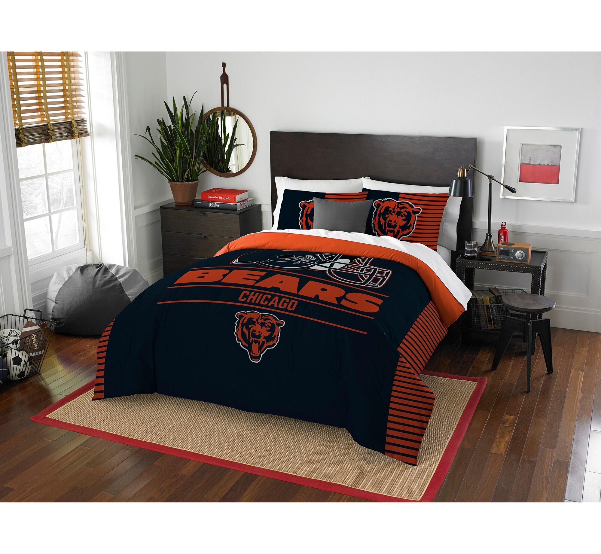 Chicago Bears The Northwest Company NFL Draft Full/Queen Comforter Set