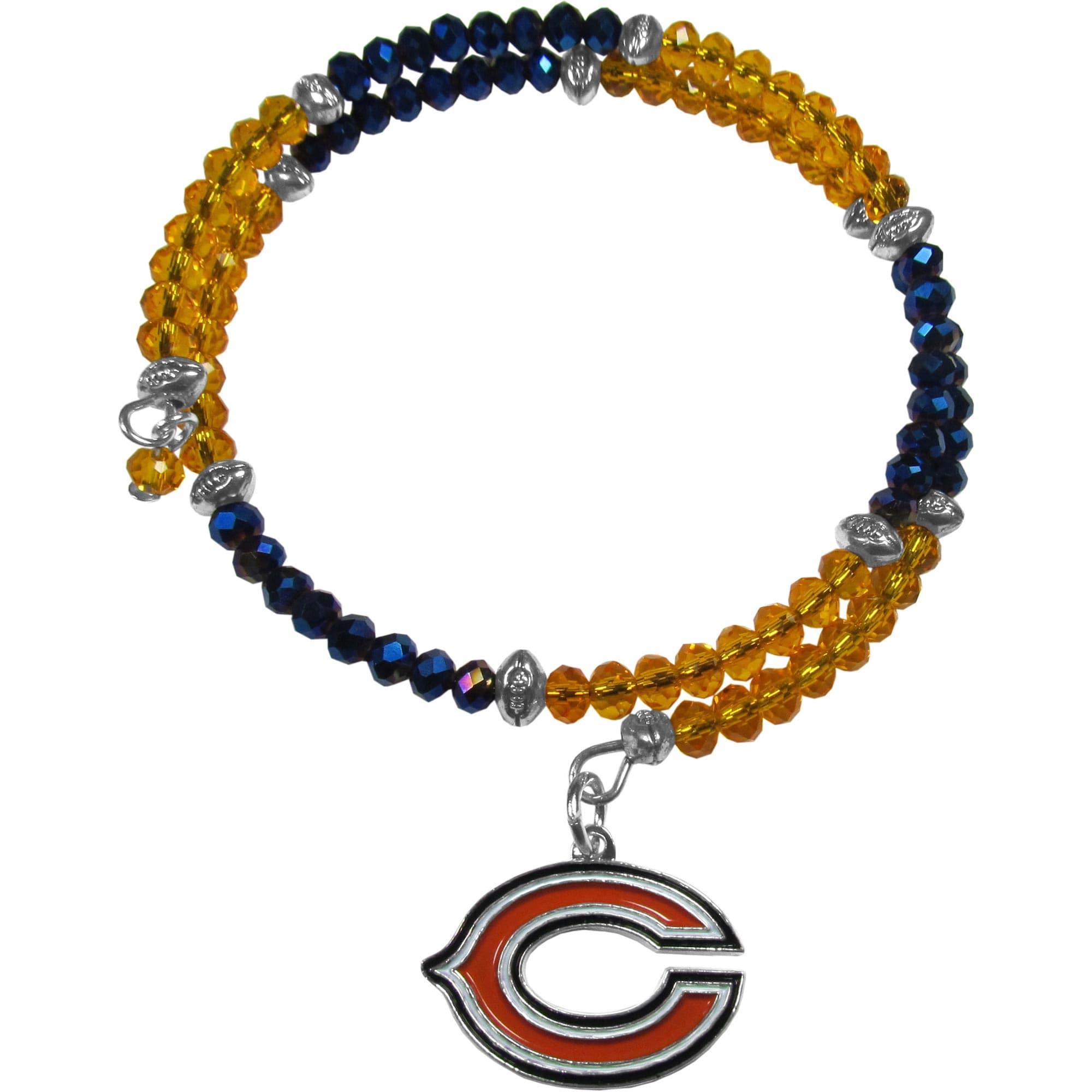 Chicago Bears Women's 400 Degrees Crystal Bracelet