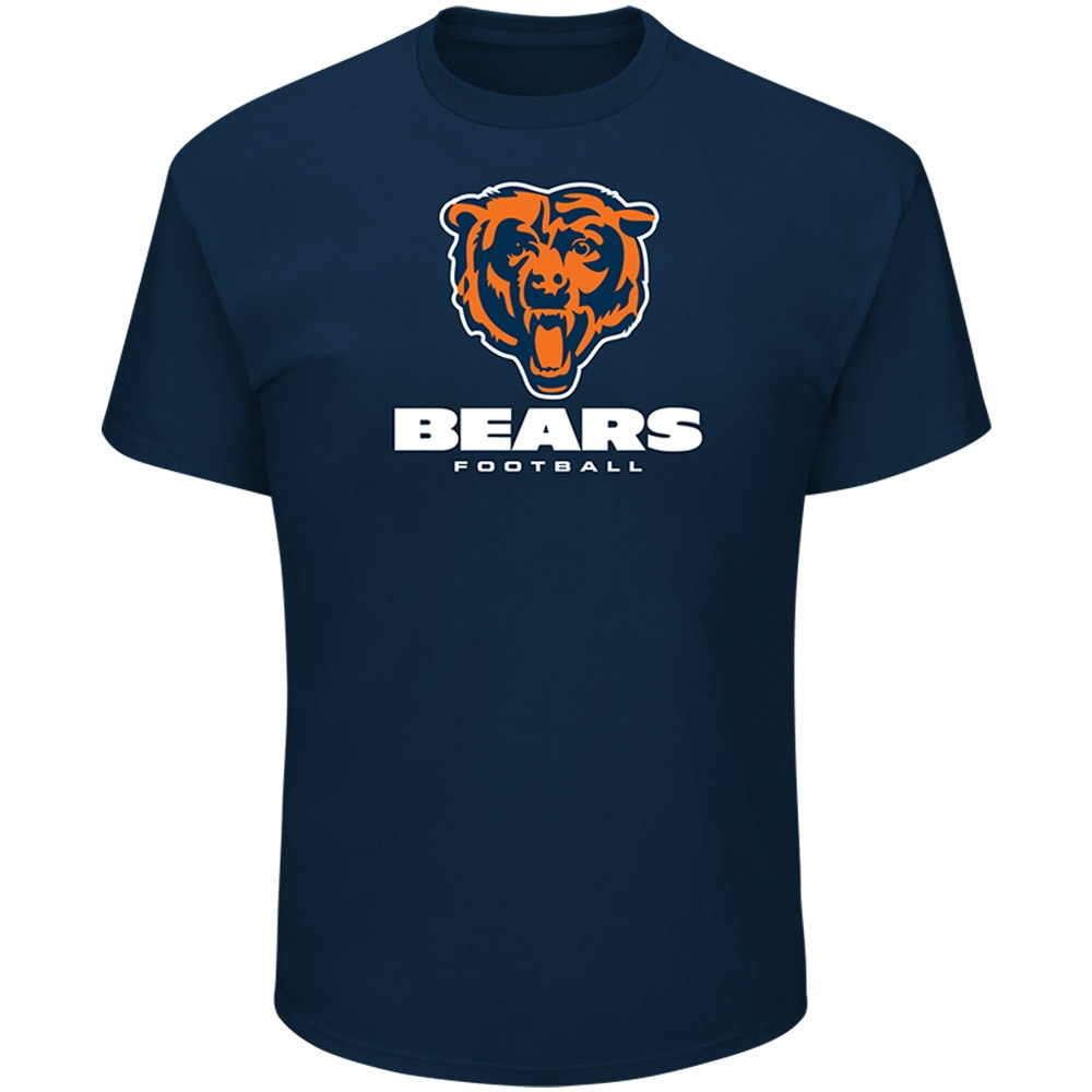 Chicago Bears Majestic Critical Victory Tee - Navy